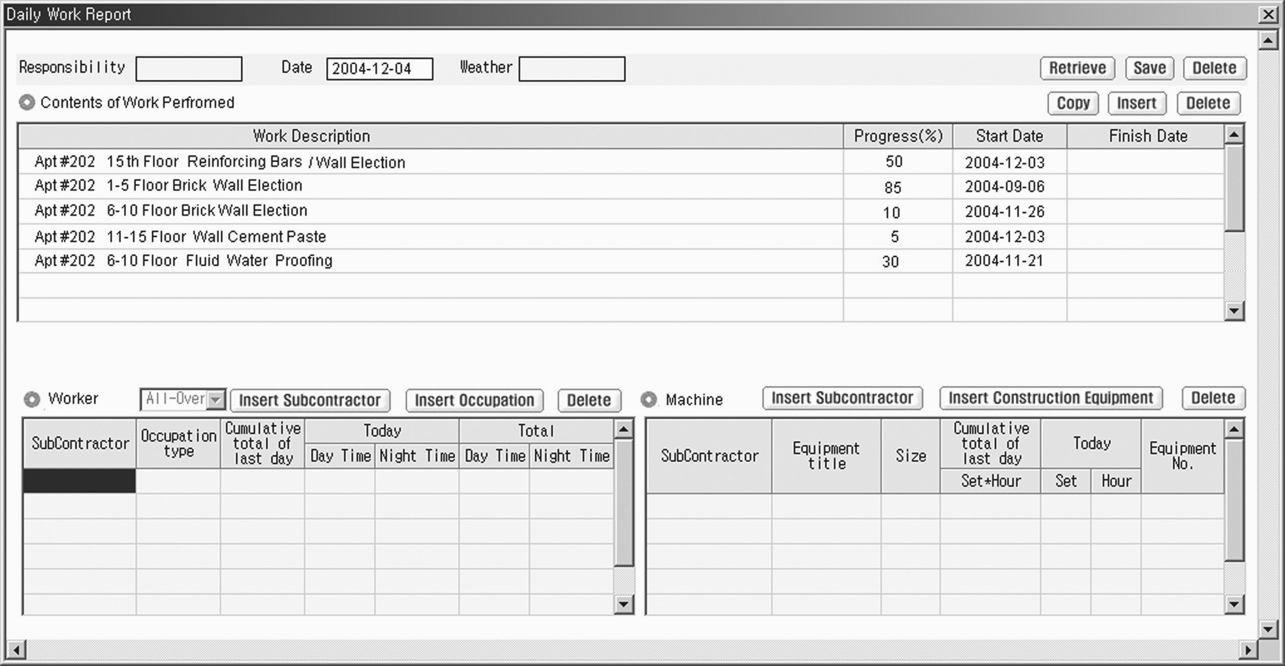 Daily Progress Report Format For Civil Works Excel from ascelibrary.org