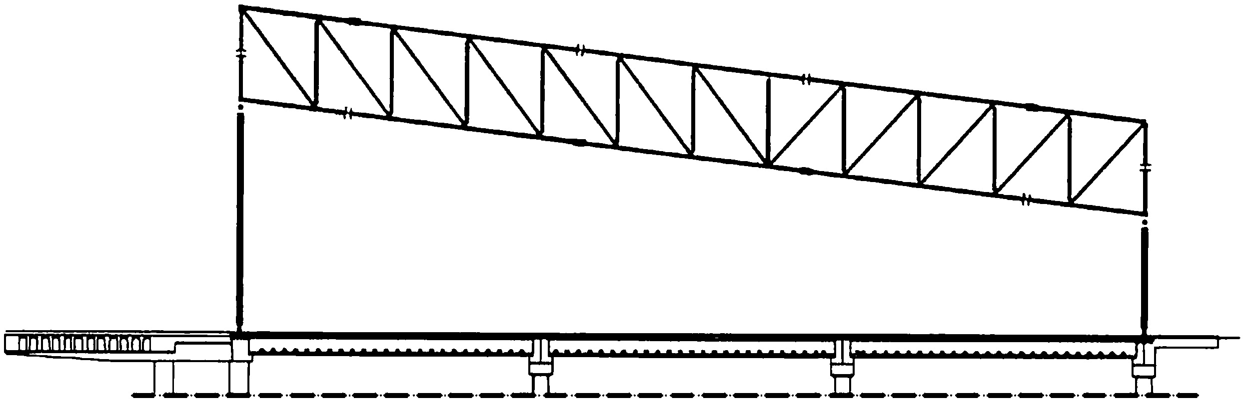 Buckling Analysis Of A Long Span Roof Structure Collapsed During Construction Journal Of Performance Of Constructed Facilities Vol 27 No 1