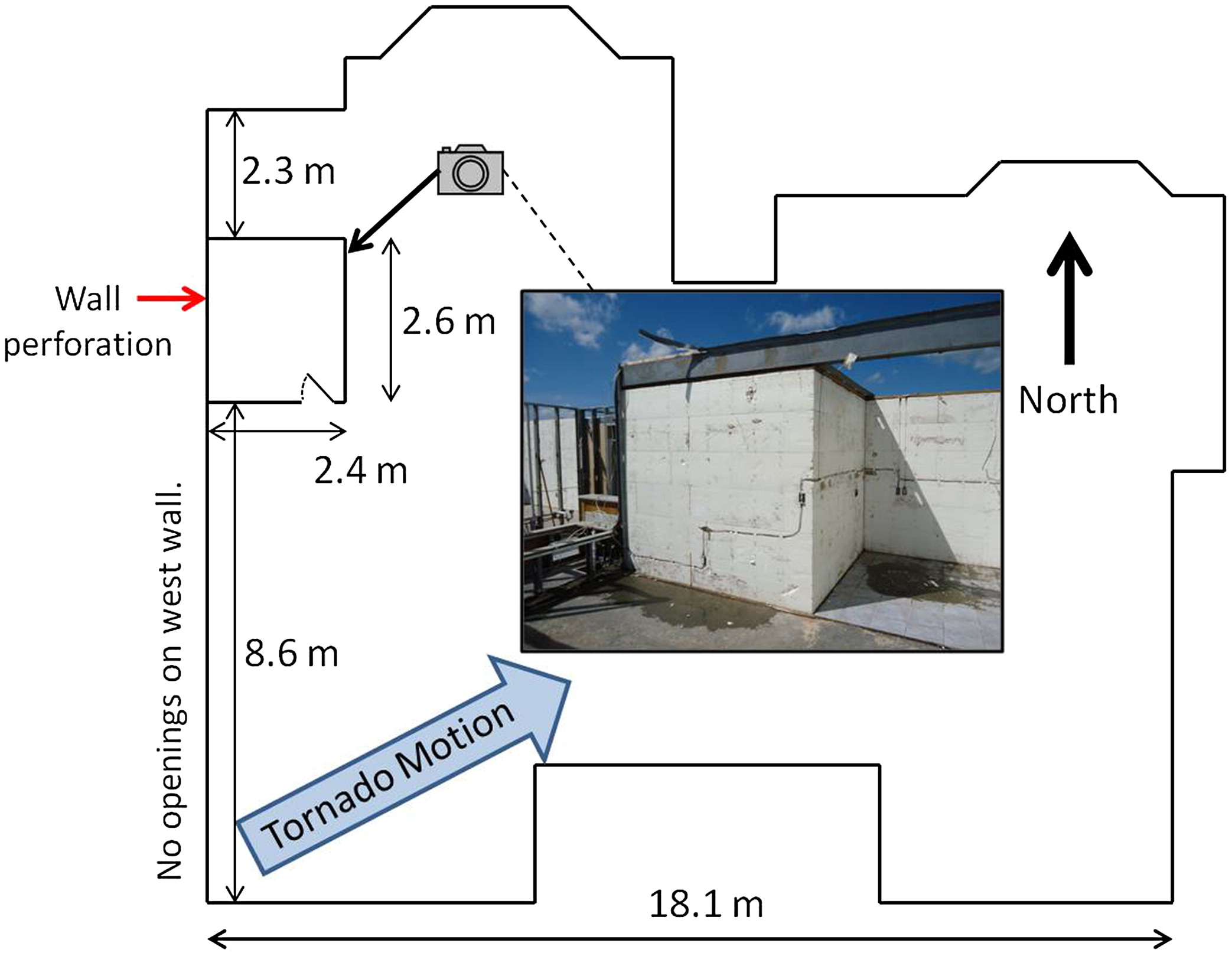 Performance of Residential Shelters during the May 20, 2013 ... on icf house floor plans, icf ranch home plans, insulated concrete form house plans, icf home designs house plans,