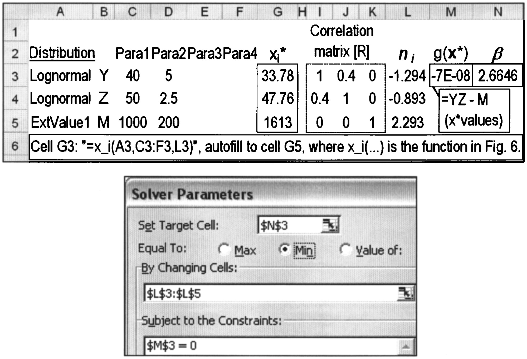 Efficient Spreadsheet Algorithm for First-Order Reliability ...