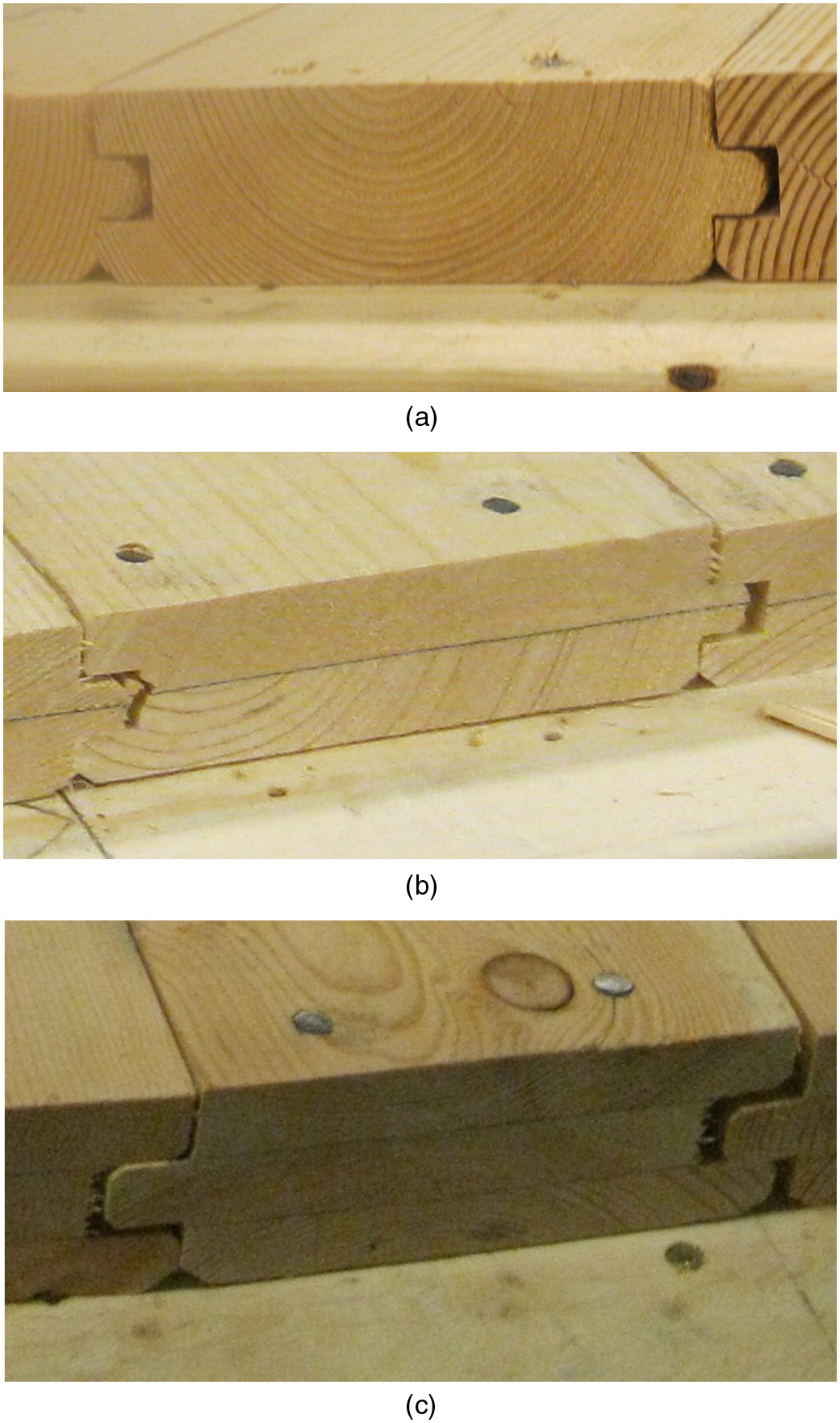 Effects Of Load Sharing In Wood Tongue And Groove Plank Decking