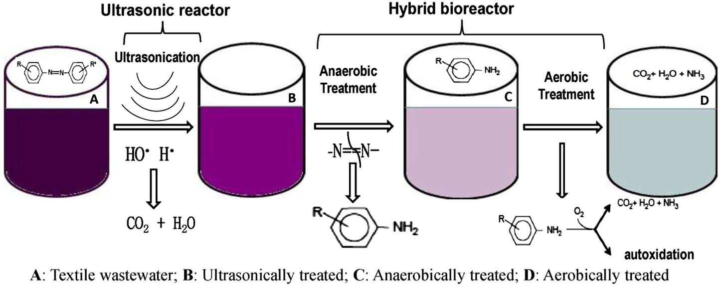 Application of Ultrasonication and Hybrid Bioreactor for Treatment ...