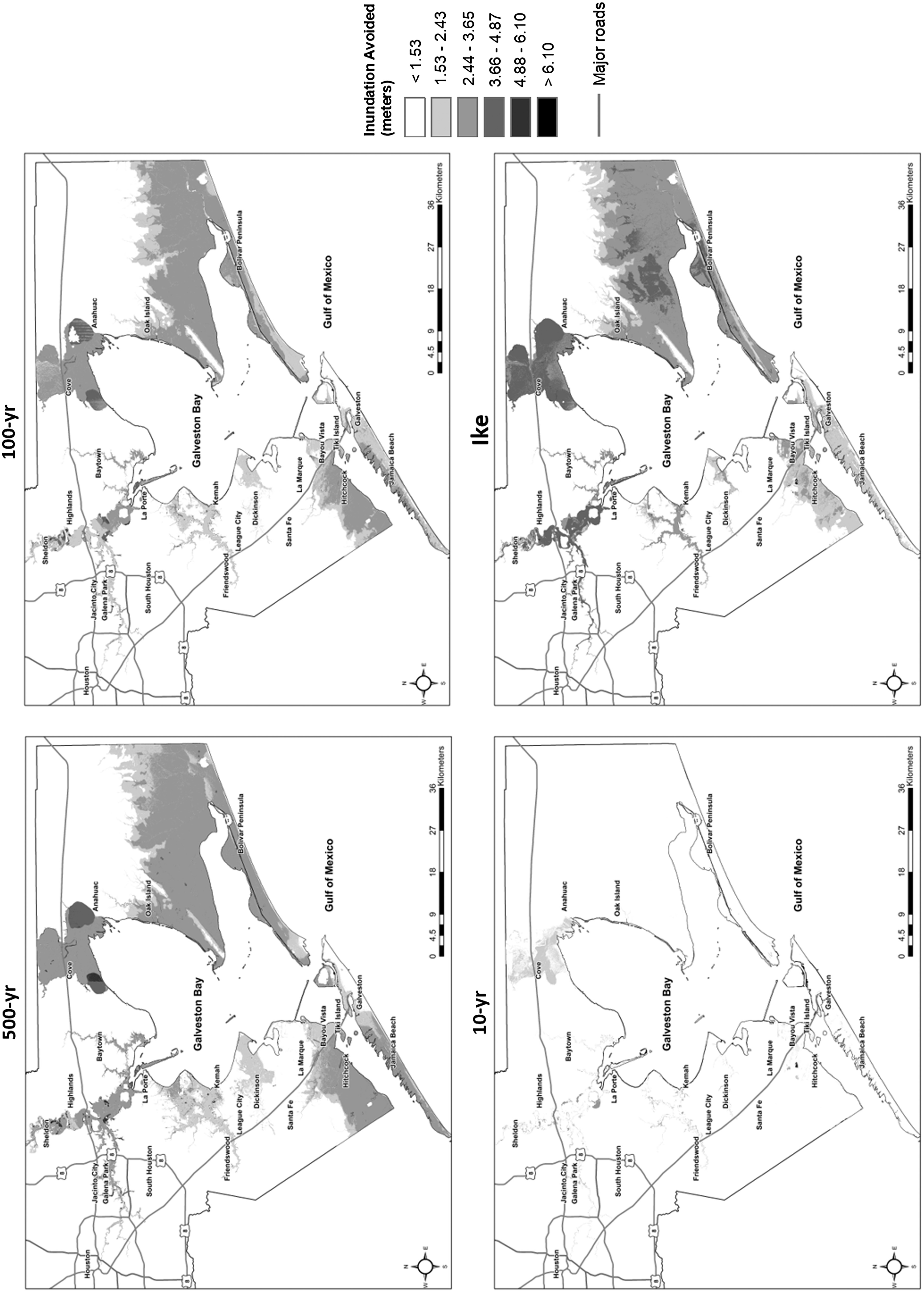 Estimating Residential Property Loss Reduction From A Proposed Jacinto 6 Block Diagram Coastal Barrier System In The Houston Galveston Region Natural Hazards Review Vol 19