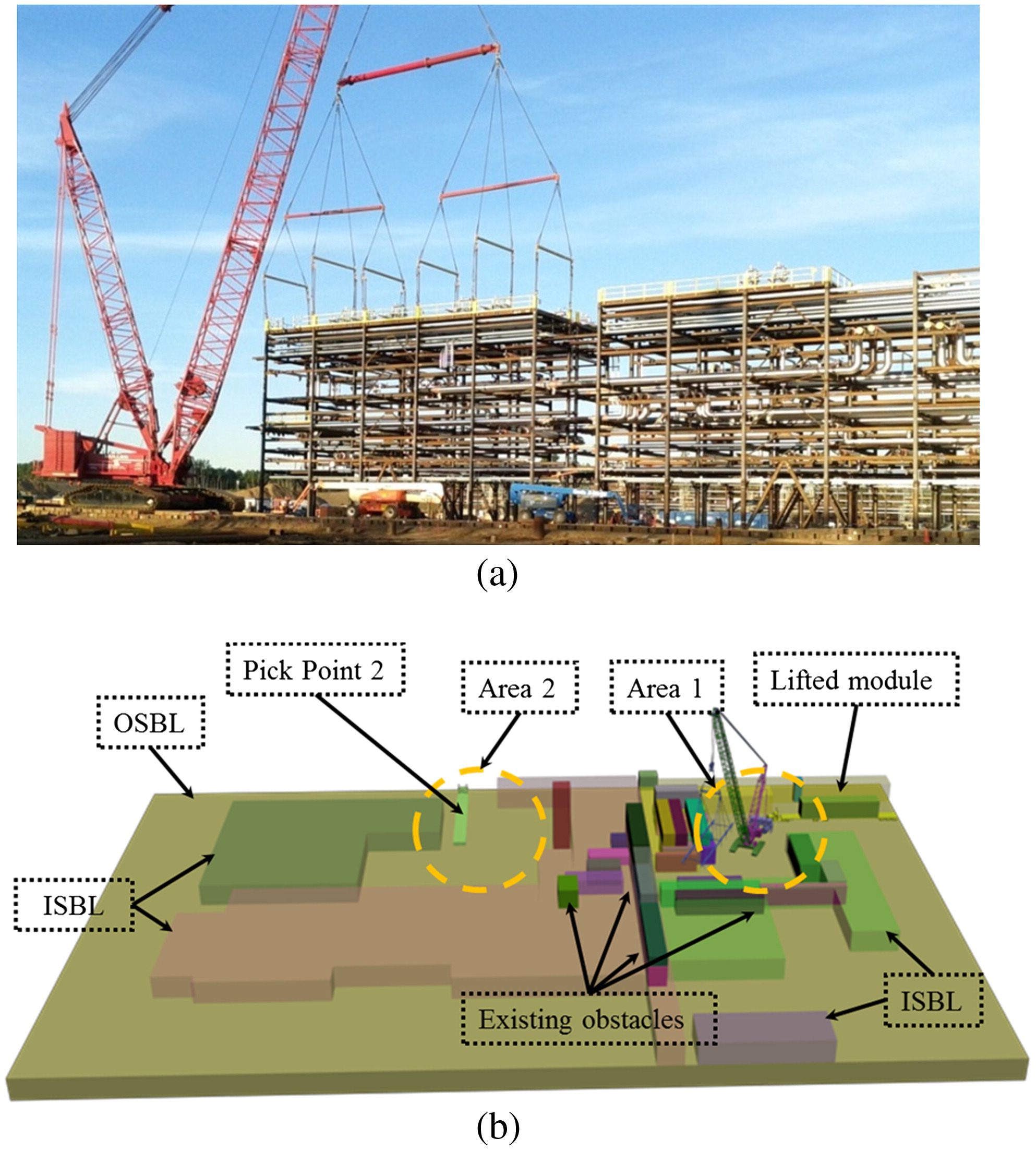 3d visualization based motion planning of mobile crane operations