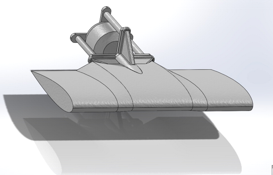 Use of Custer Channel Wings–Wing Ducts on Small UAVs   Journal of