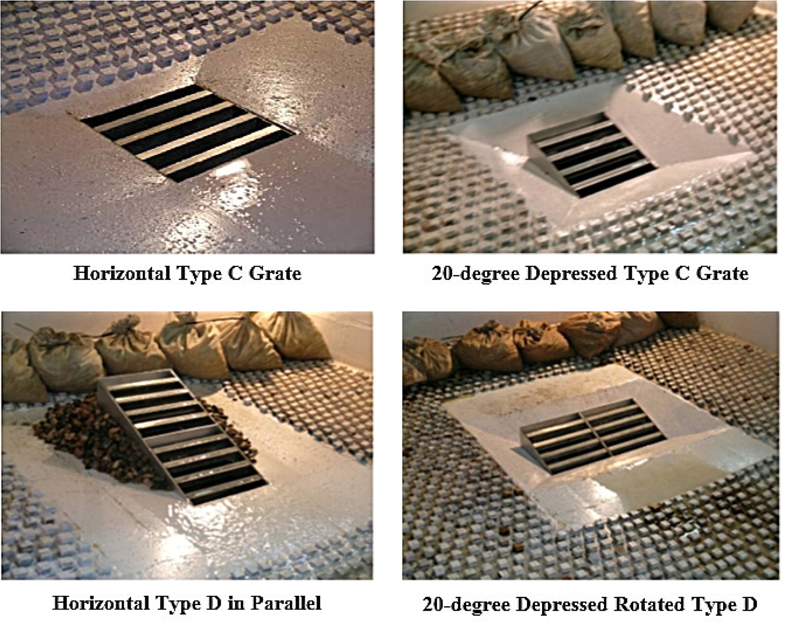 HEC-12 Combination Grate and Curb Inlets