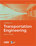 Journal of Transportation Engineering Part A: Systems
