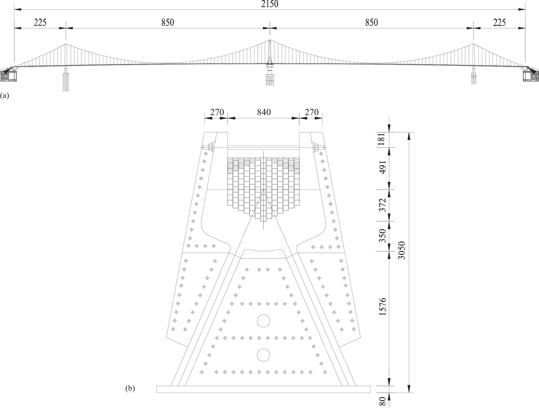 Analytical Model For Frictional Resistance Between Cable And Saddle Bridge Balance Indicator Circuit Diagram Diagrams Free Of Suspension Bridges Equipped With Vertical Friction Plates Journal