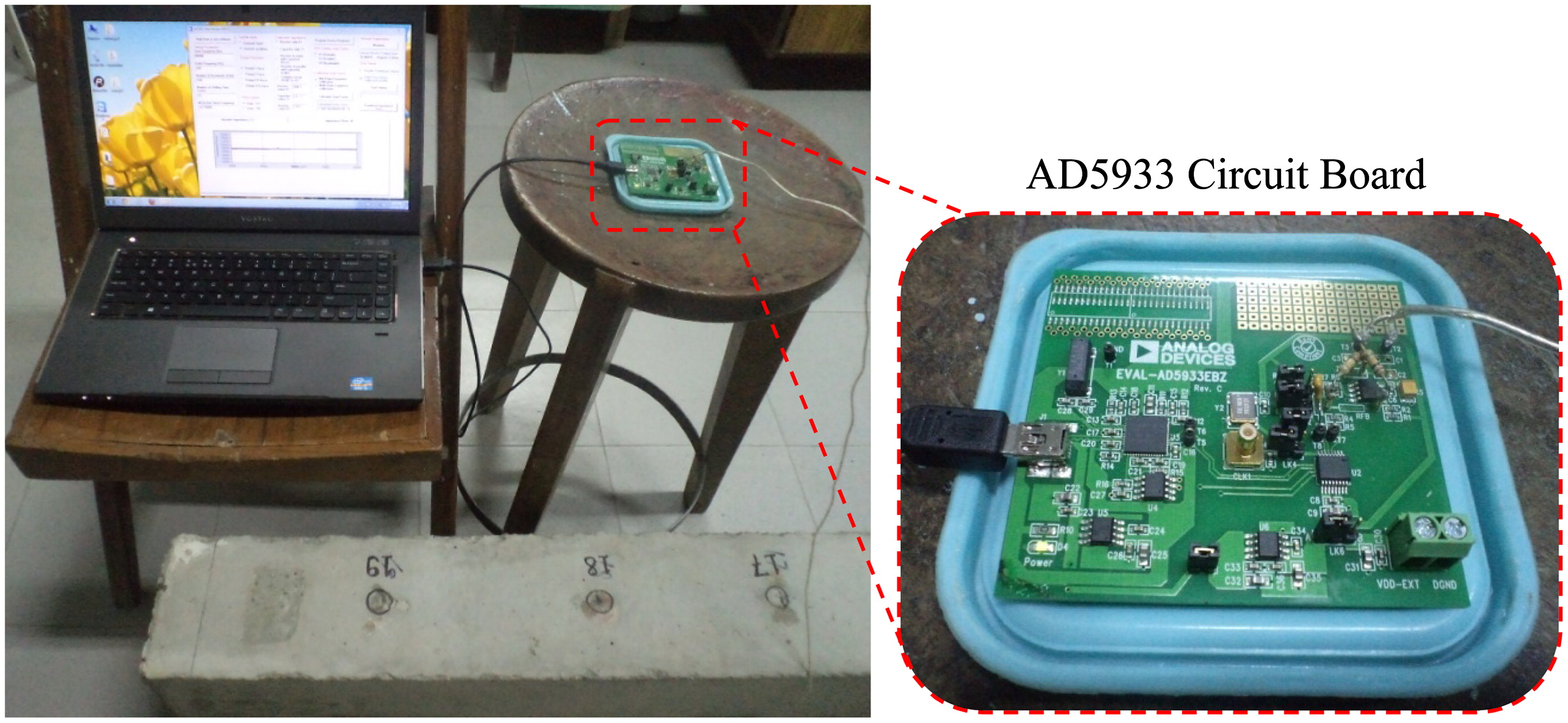 Combined Energy Harvesting and Structural Health Monitoring