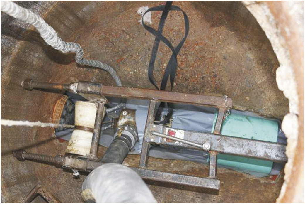 Sewer Rehabilitation Using an Ultraviolet-Cured GFR Cured-in-Place Pipe | Practice Periodical on Structural Design and Construction | Vol 20 No 1 & Sewer Rehabilitation Using an Ultraviolet-Cured GFR Cured-in-Place ...