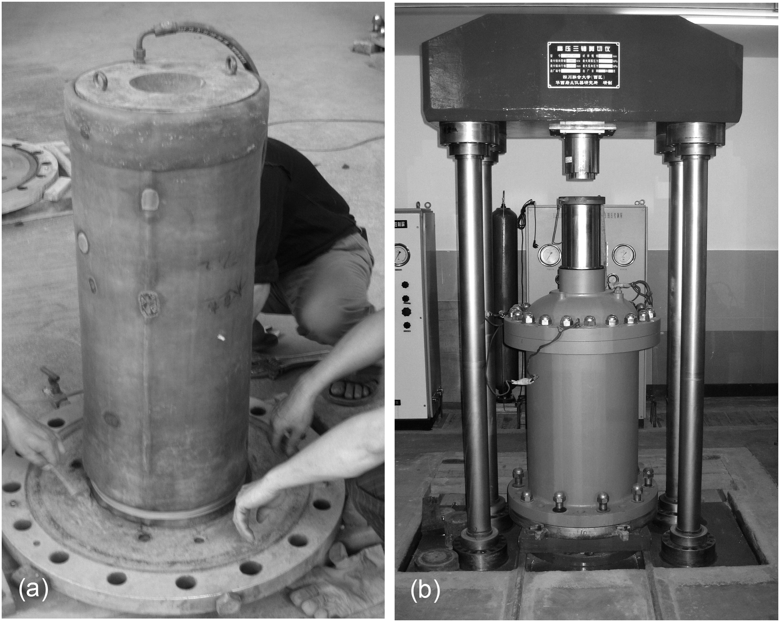 strength and deformation of rockfill material based on large-scale triaxial  compression tests  i: influences of density and pressure | journal of