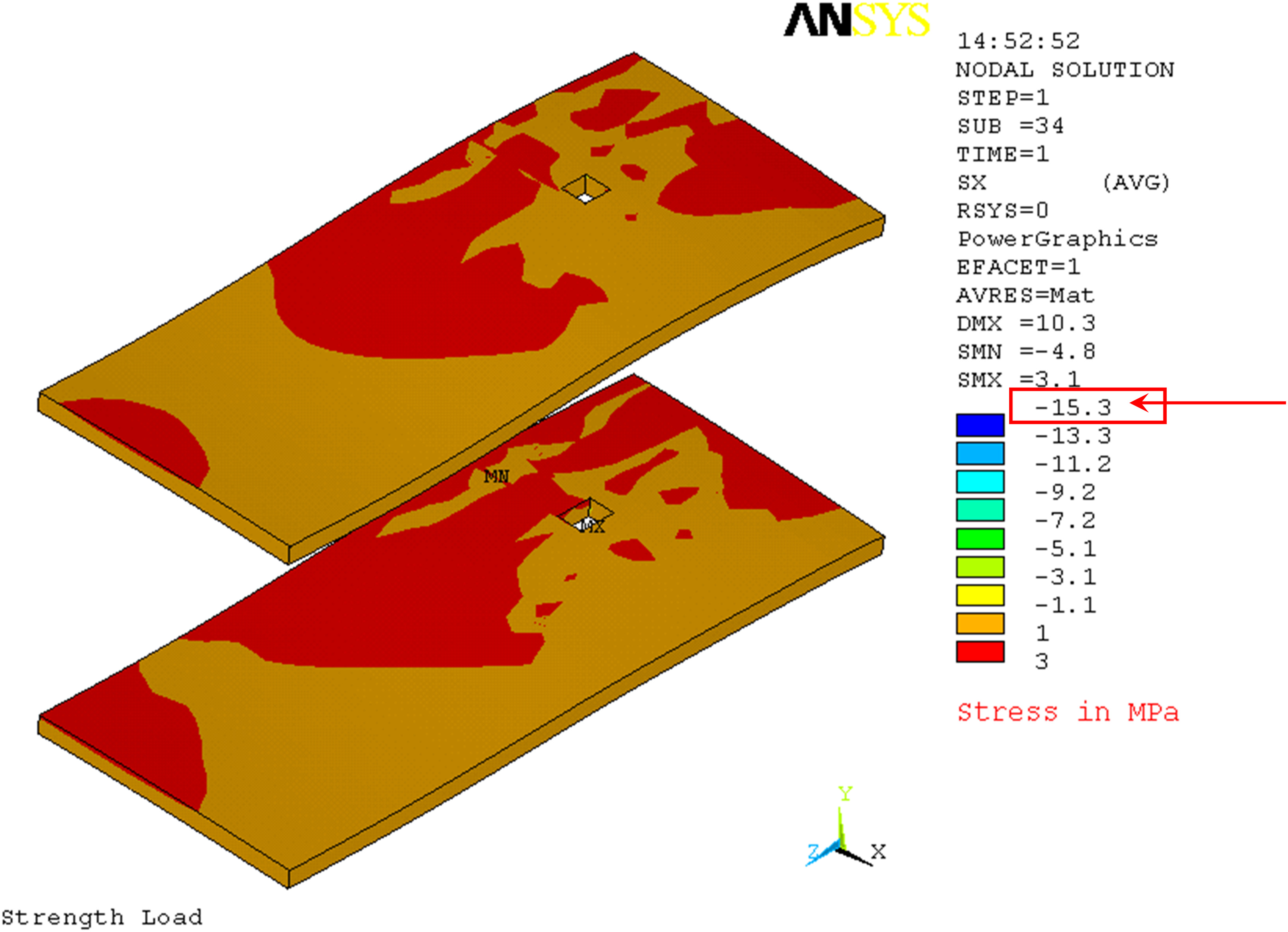 Finite-Element Analysis of Cantilever Slab Deflections with