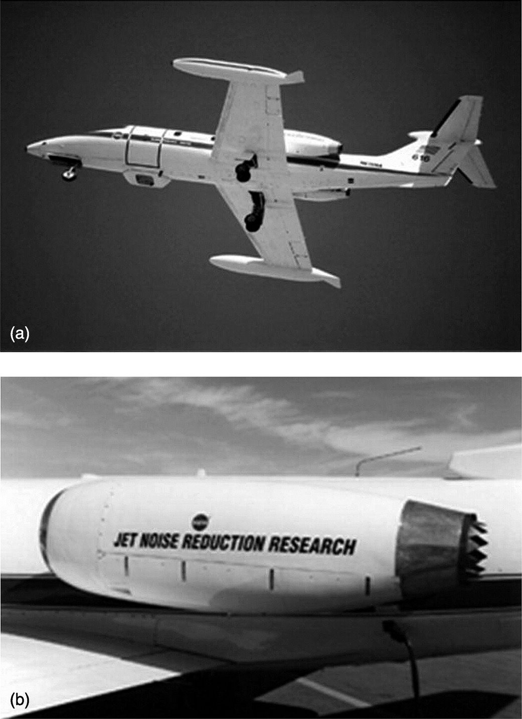 Nasa Glenns Contributions To Aircraft Engine Noise Research Artan Illustration Shows Cross Sections Of A Boeing 737 Passenger Jet Journal Aerospace Engineering Vol 26 No 2