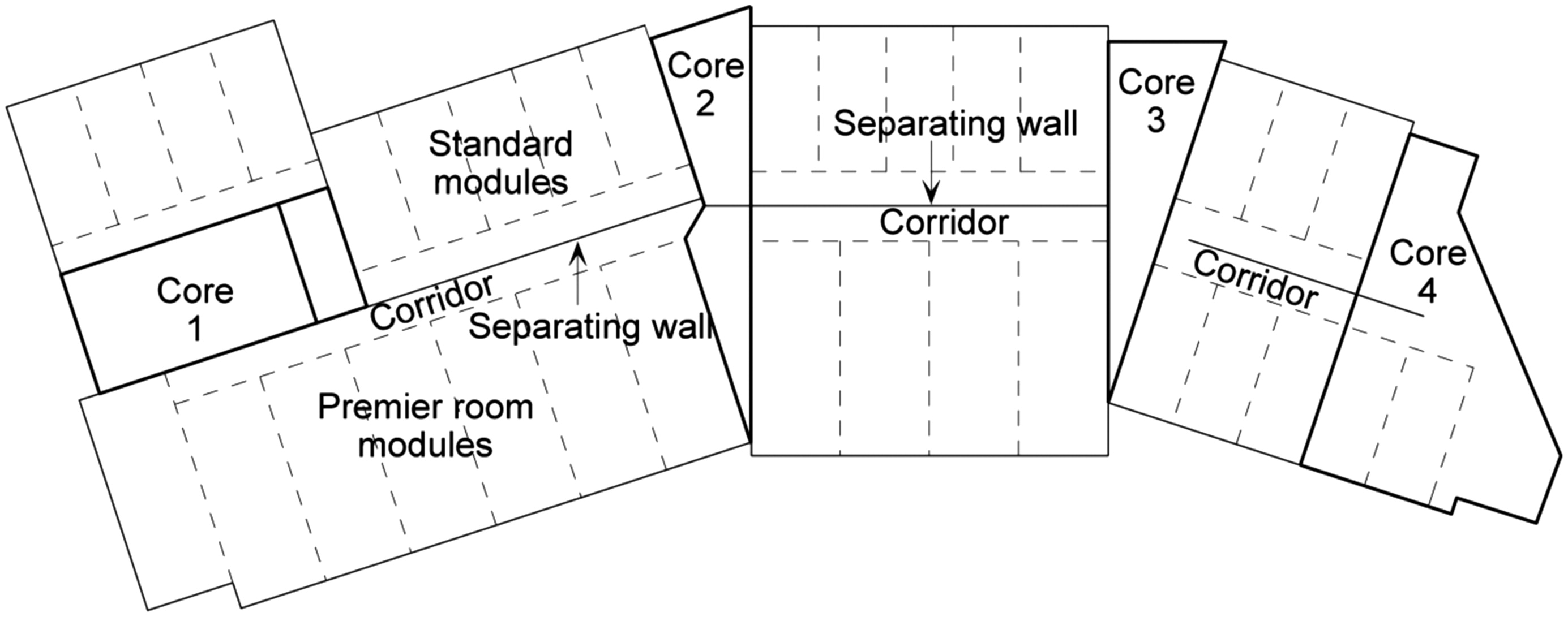 Application Of Modular Construction In High Rise Buildings Journal Diagram A Network Architecture Multistory Building Architectural Engineering Vol 18 No 2