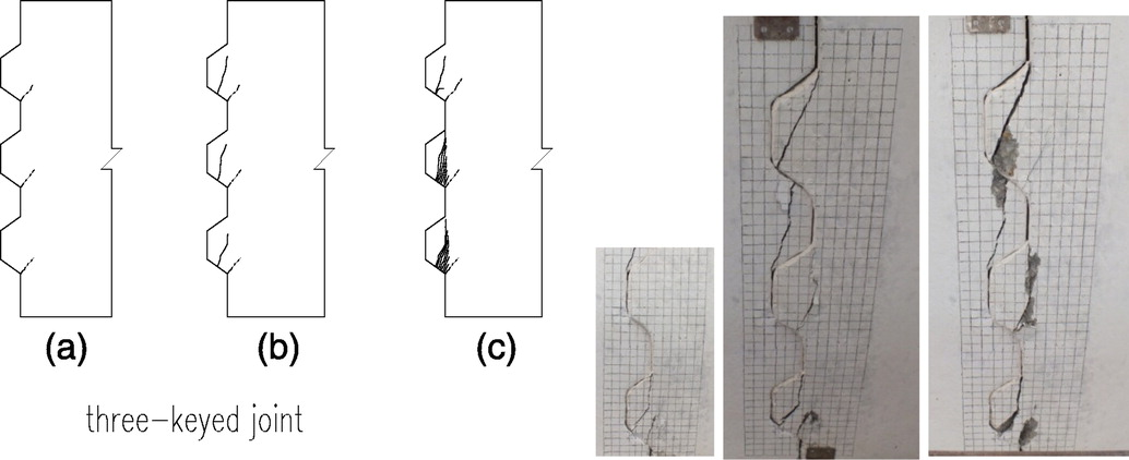 Shear Behavior of Dry Joints with Castellated Keys in