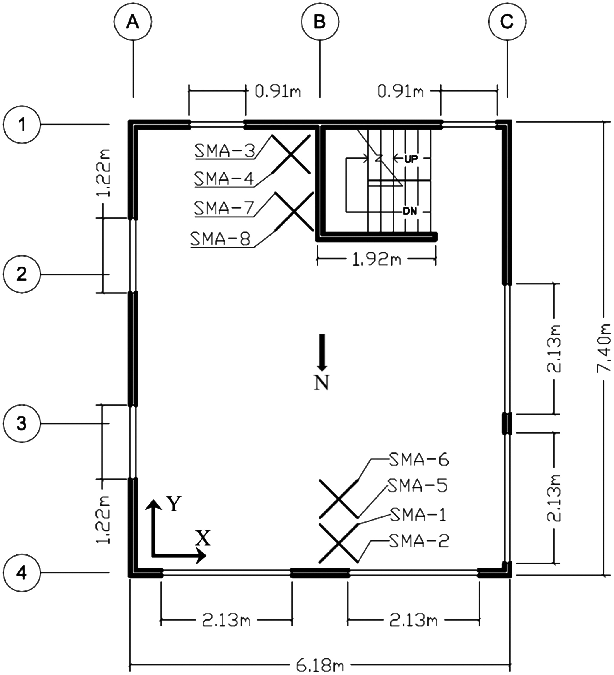 Full Scale Experimental Investigation Of Second Story Collapse Basic Wiring To Detached Garage The Journal Board Behavior In A Woodframe Building With An Over Retrofitted First