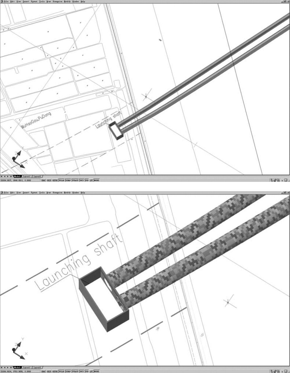 Modeling and Visualization of Underground Structures