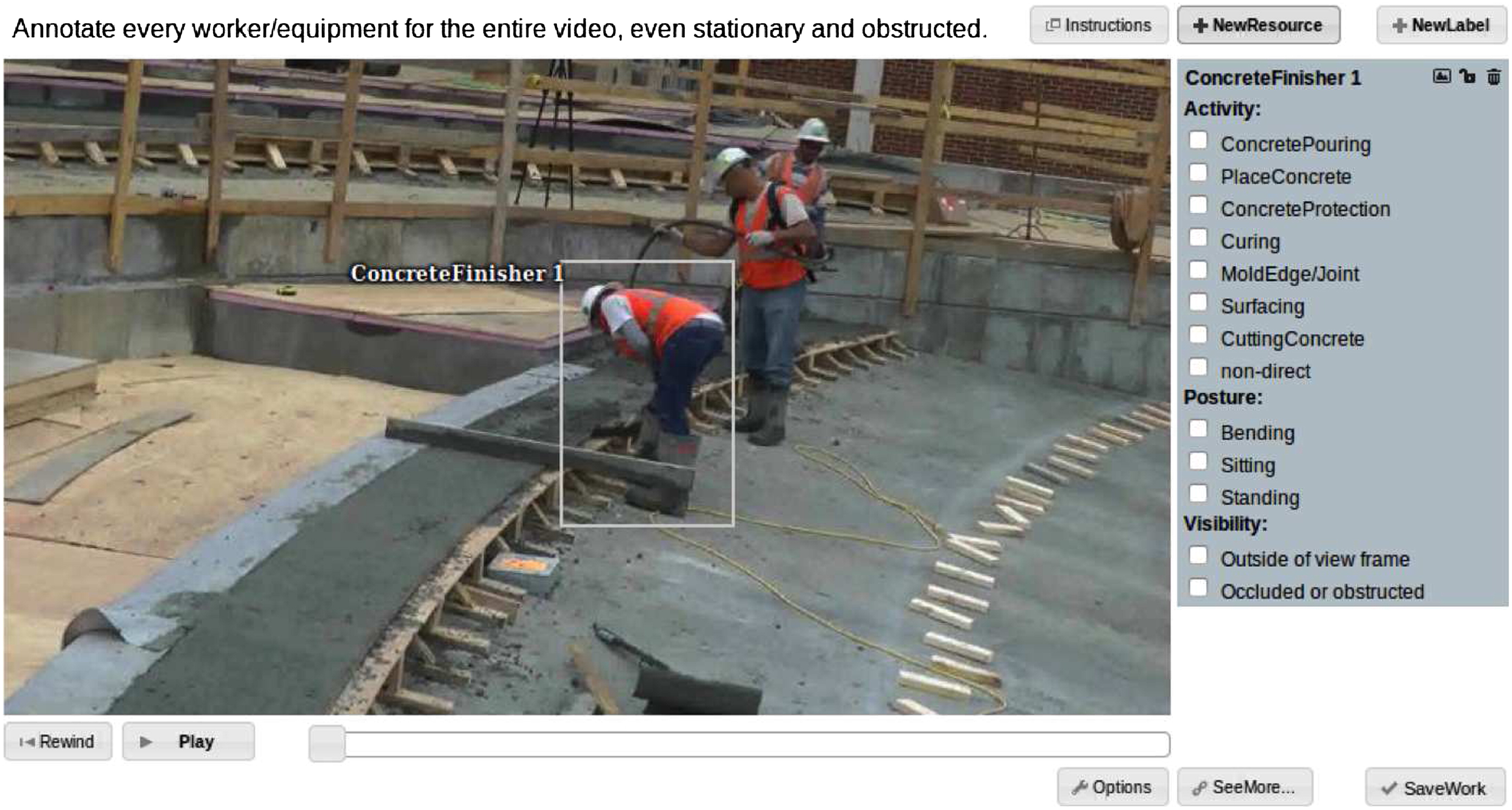 Crowdsourcing Construction Activity Analysis from Jobsite Video