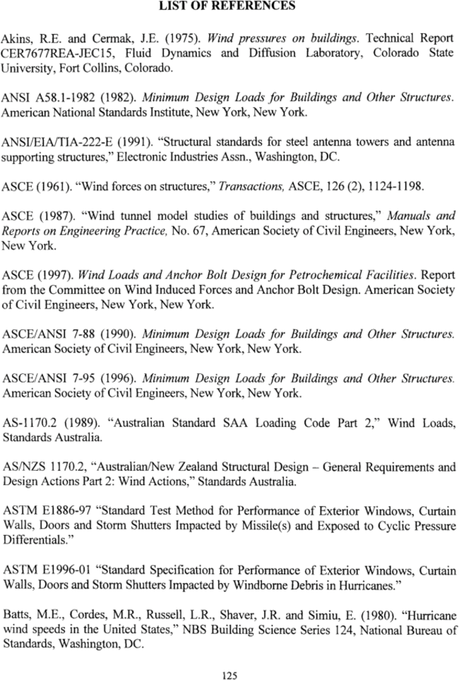 References guide to the use of wind load provisions of asce 7 98 references fandeluxe Choice Image
