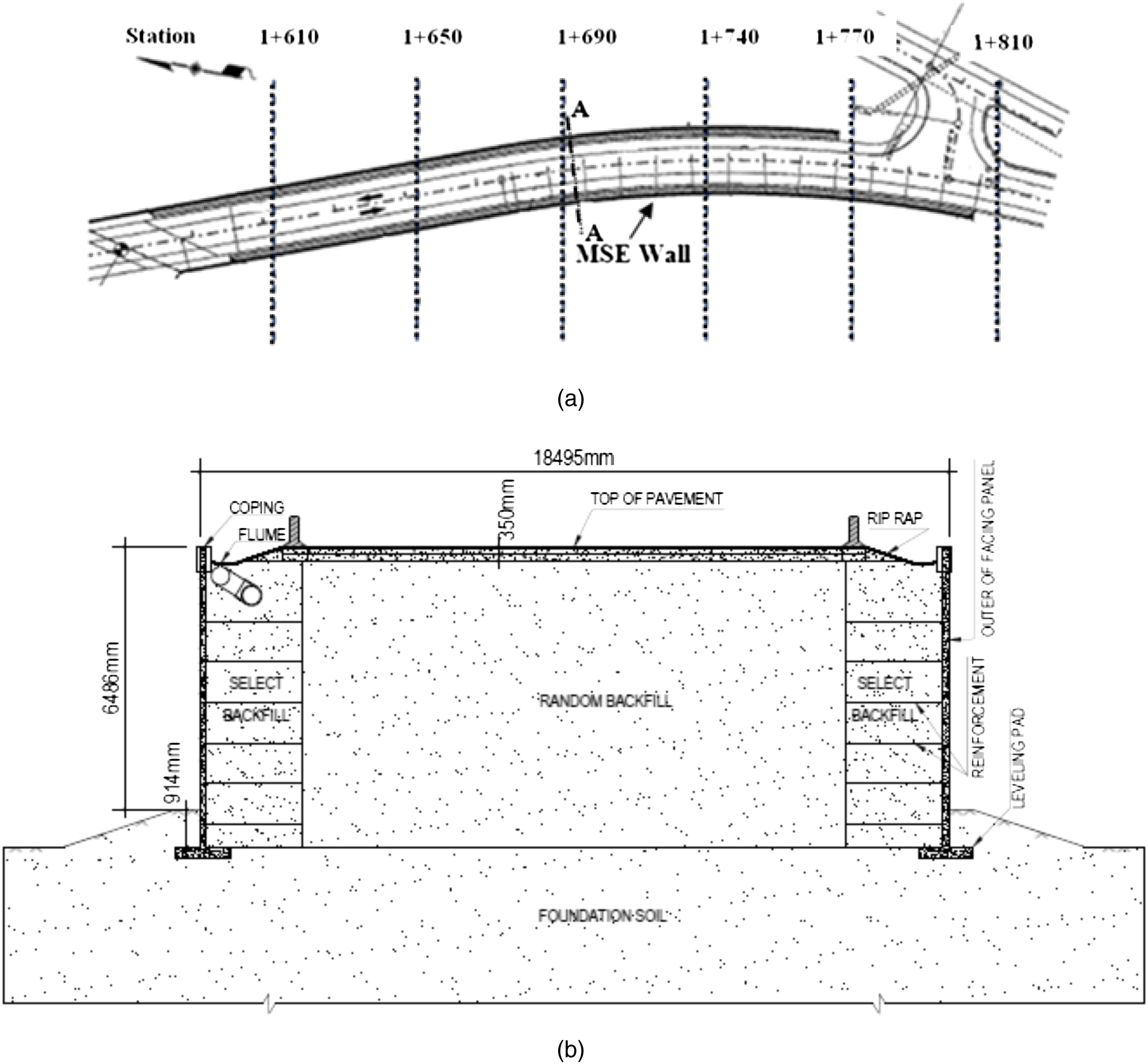 Mse Wall Design effects of backfill soil on excessive movement of mse wall