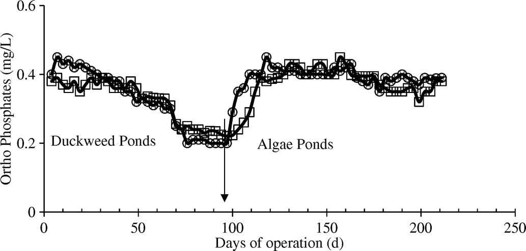 simulated storm-water runoff treatment by duckweed and algae ponds    journal of environmental engineering   vol 139, no 4