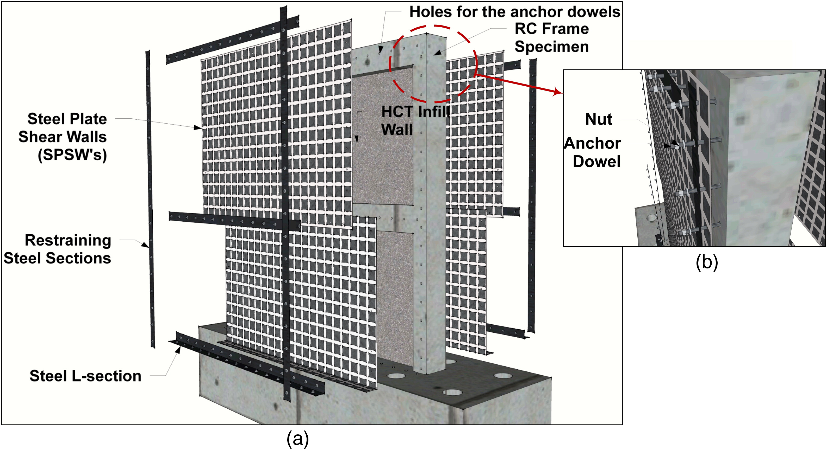 Rehabilitation of Infilled Reinforced Concrete Frames with