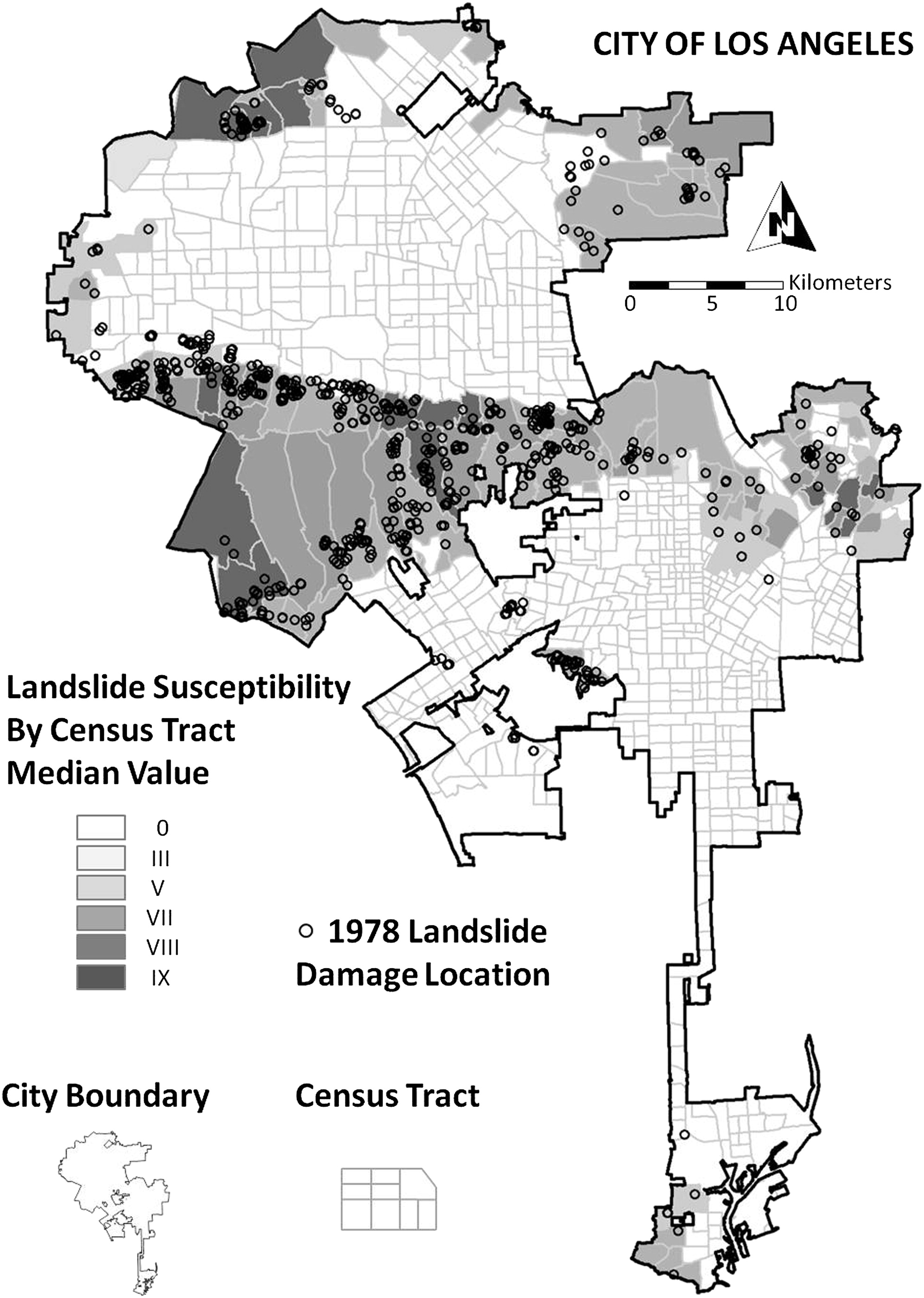 New Method For Estimating Landslide Losses From Major Winter Storms In California And Application To The Arkstorm Scenario Natural Hazards Review Vol 17