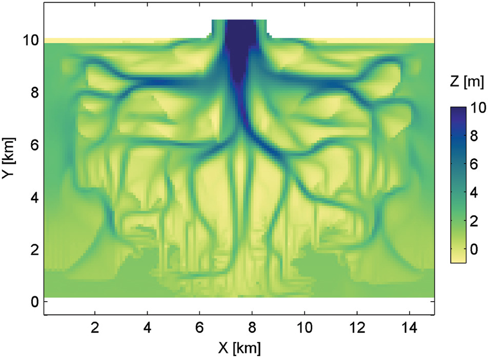 Efficient Consolidation Model for Morphodynamic Simulations in Low