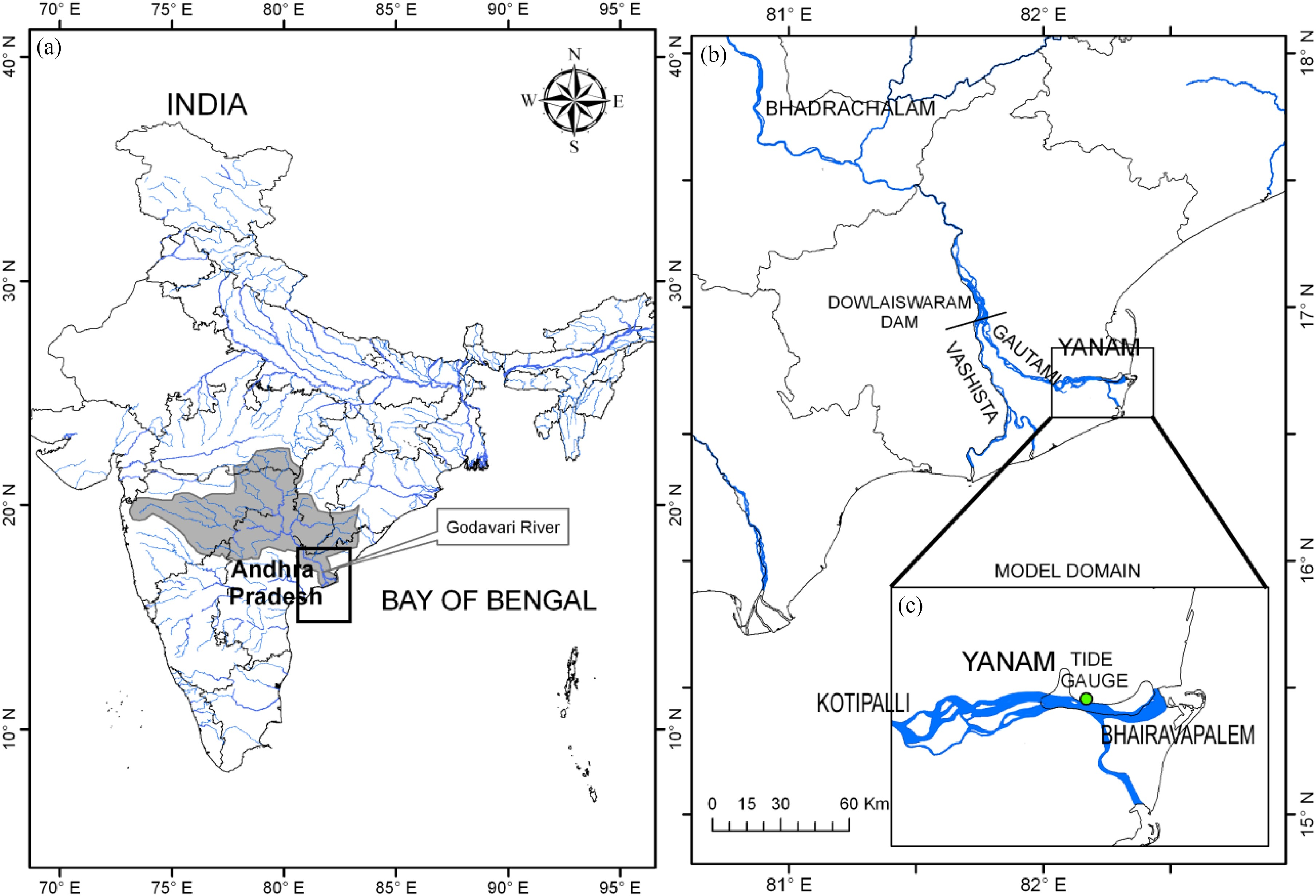 Influence Of Dam Controlled River Discharge And Tides On Salinity
