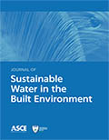 Journal of Sustainable Water in the Built Environment