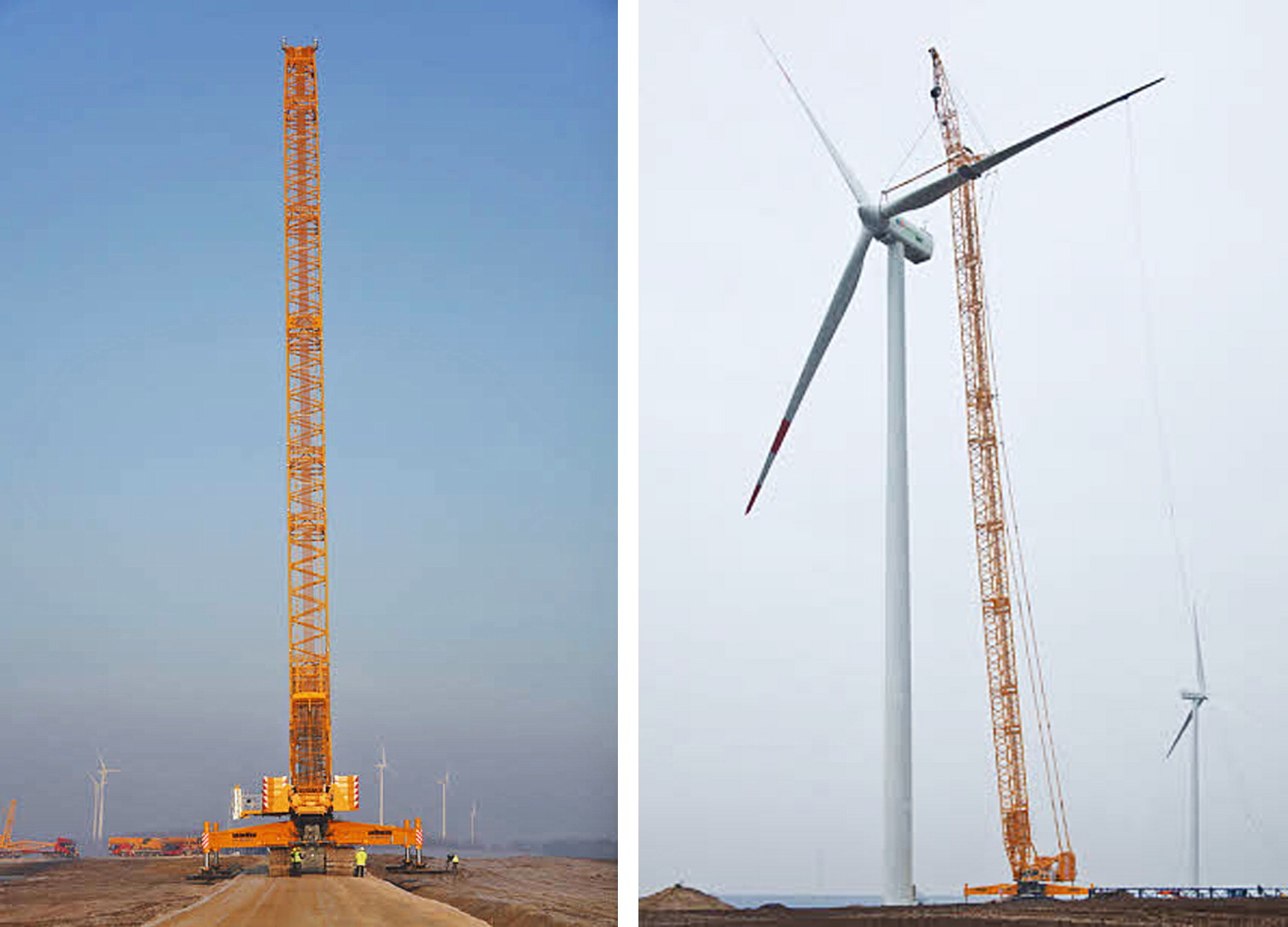 Windmill Erection and Maintenance: Challenges for Crane