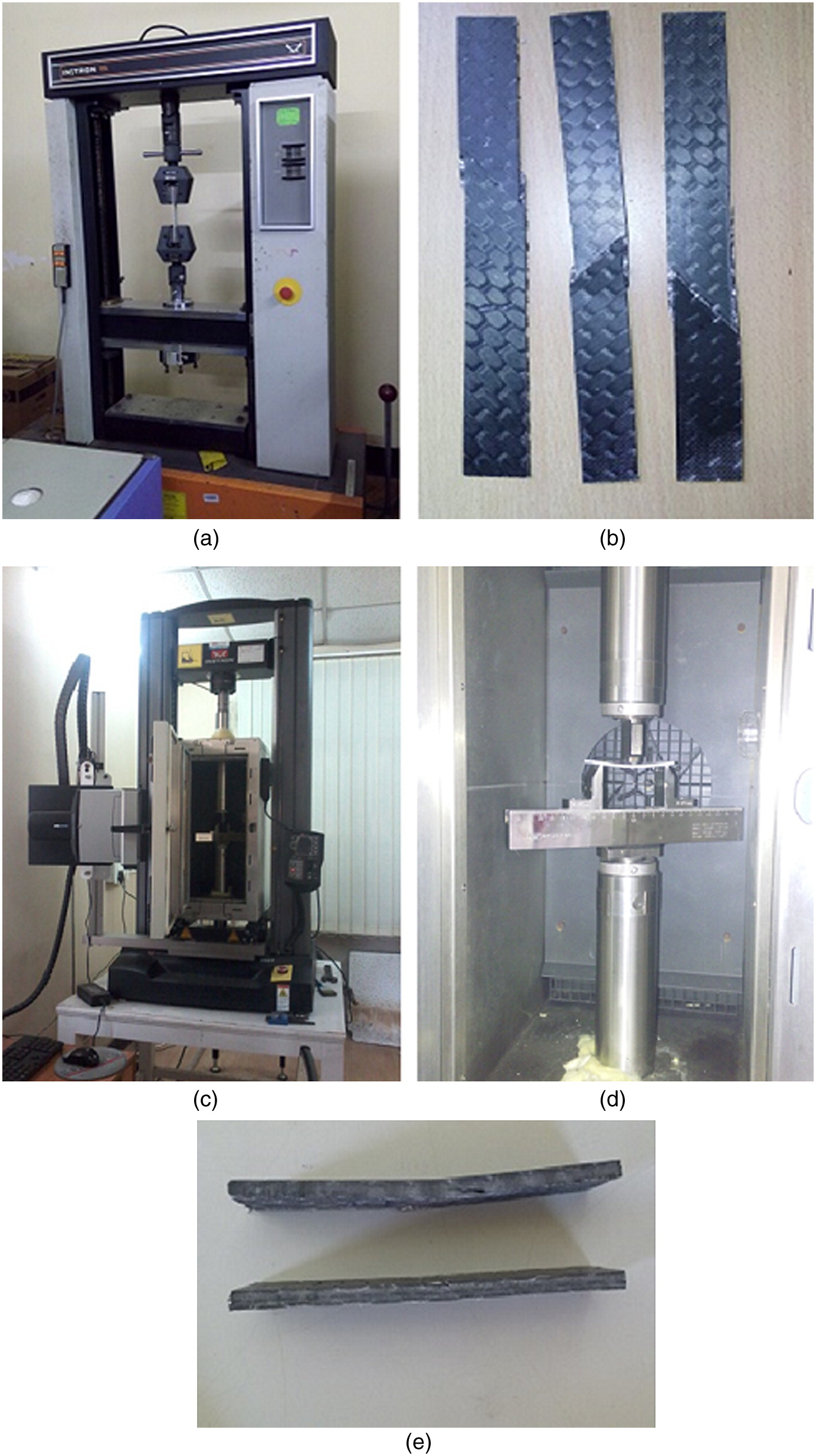 Nonlinear Flexural Analysis of Shallow Carbon/Epoxy