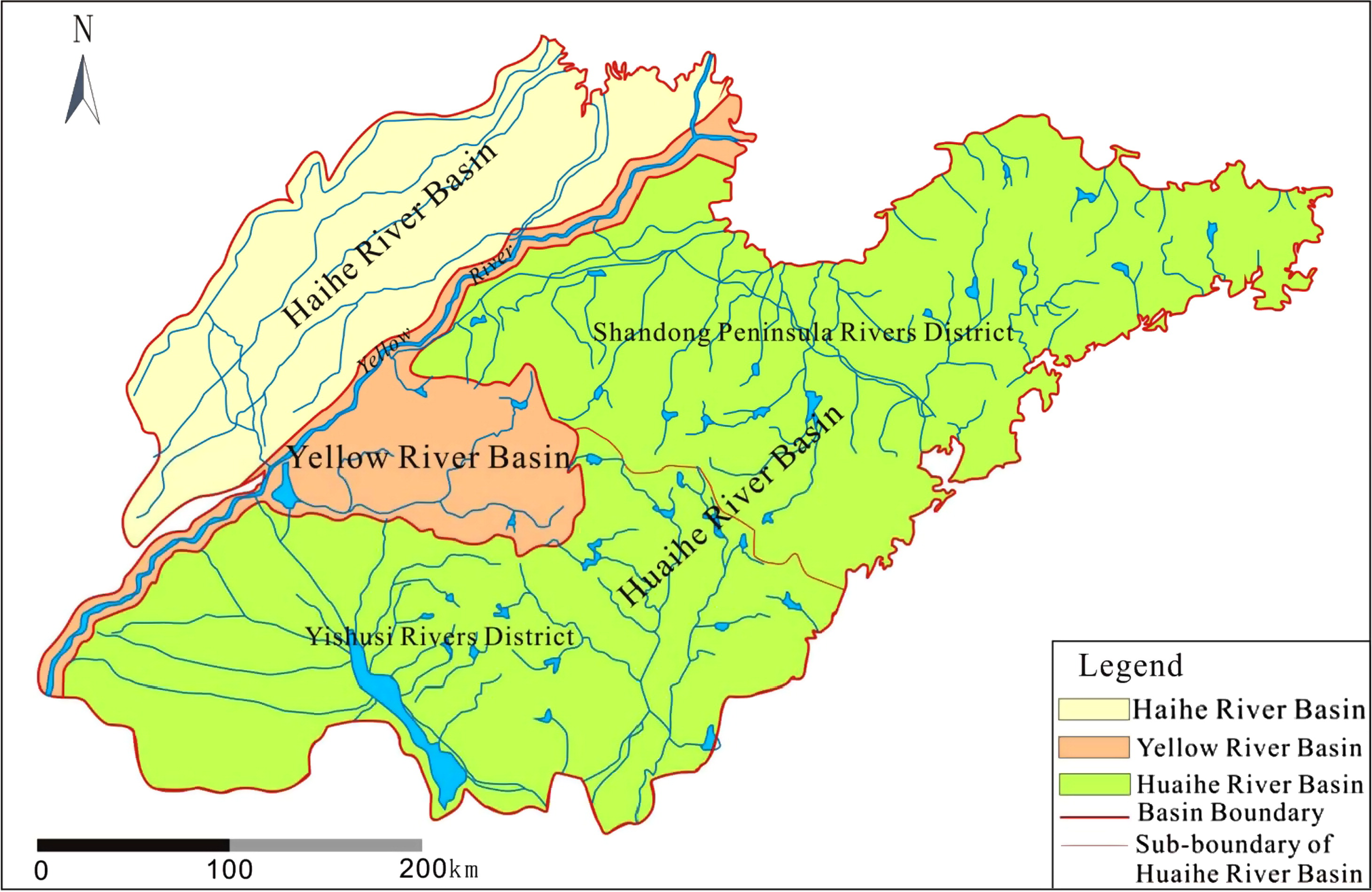 Integrated Approach To Water Allocation In River Basins Journal - River basins of the world