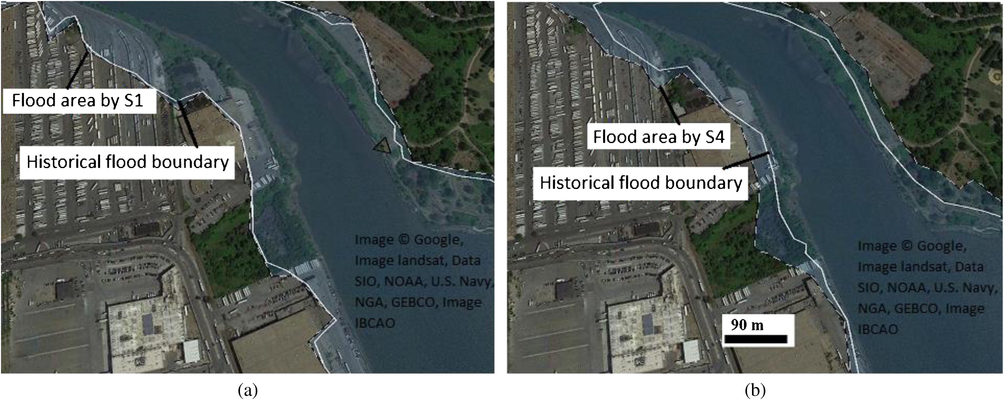 Combined Impact Of Inland And Coastal Floods Mapping Knowledge Base For Development Of Planning Strategies Journal Of Water Resources Planning And