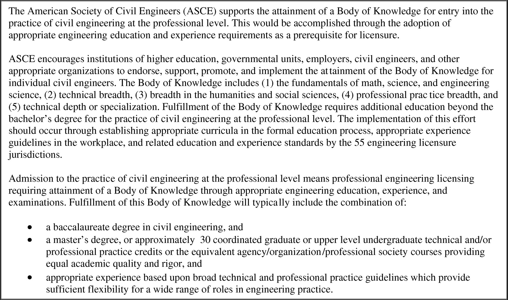 shaping the future of the civil engineering profession journal  shaping the future of the civil engineering profession journal of construction engineering and management vol 139 no 6