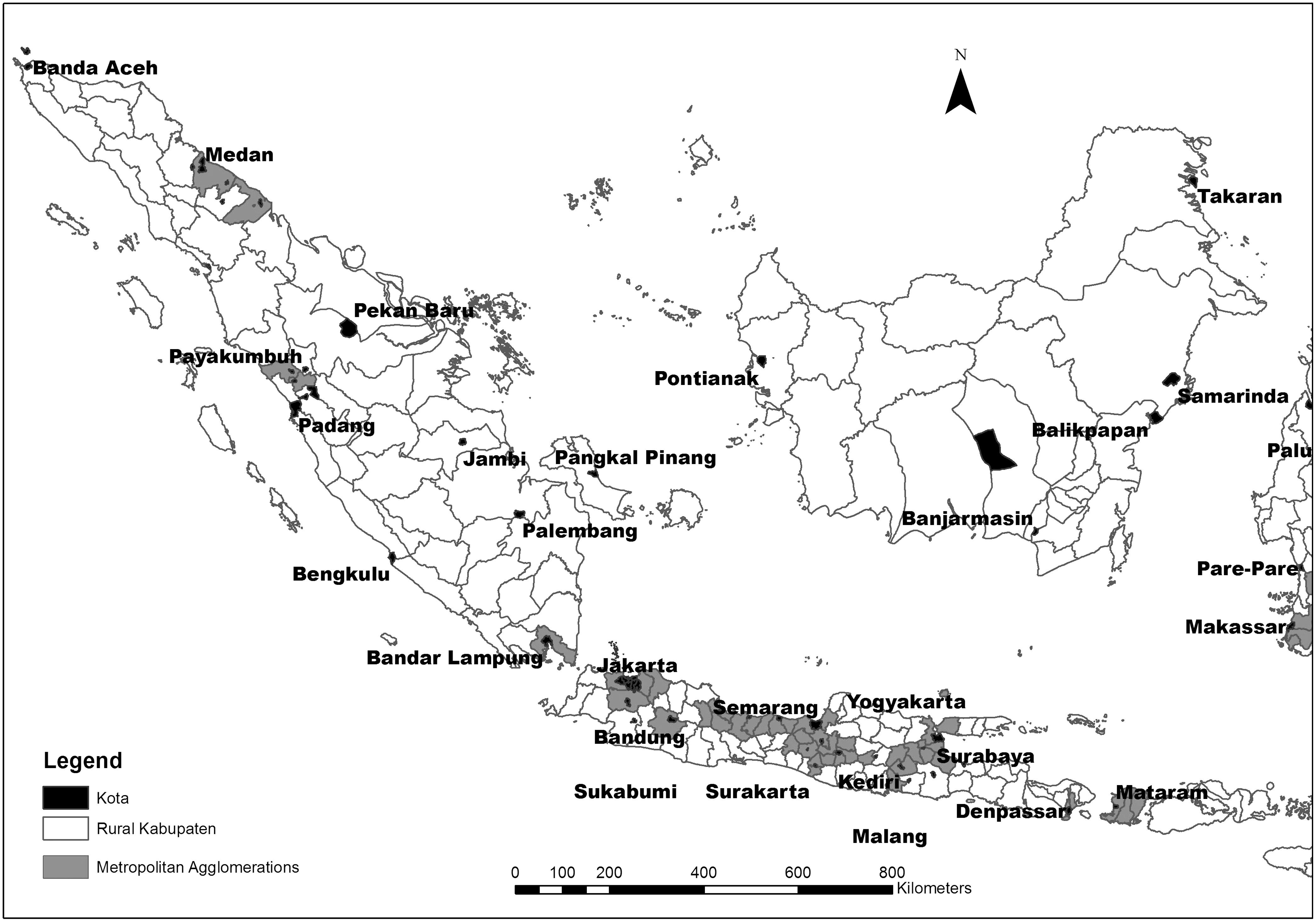 Urbanization For Everyone Benefits Of In Indonesias Solid State Relay Jakarta Rural Regions Journal Urban Planning And Development Vol 140 No 3