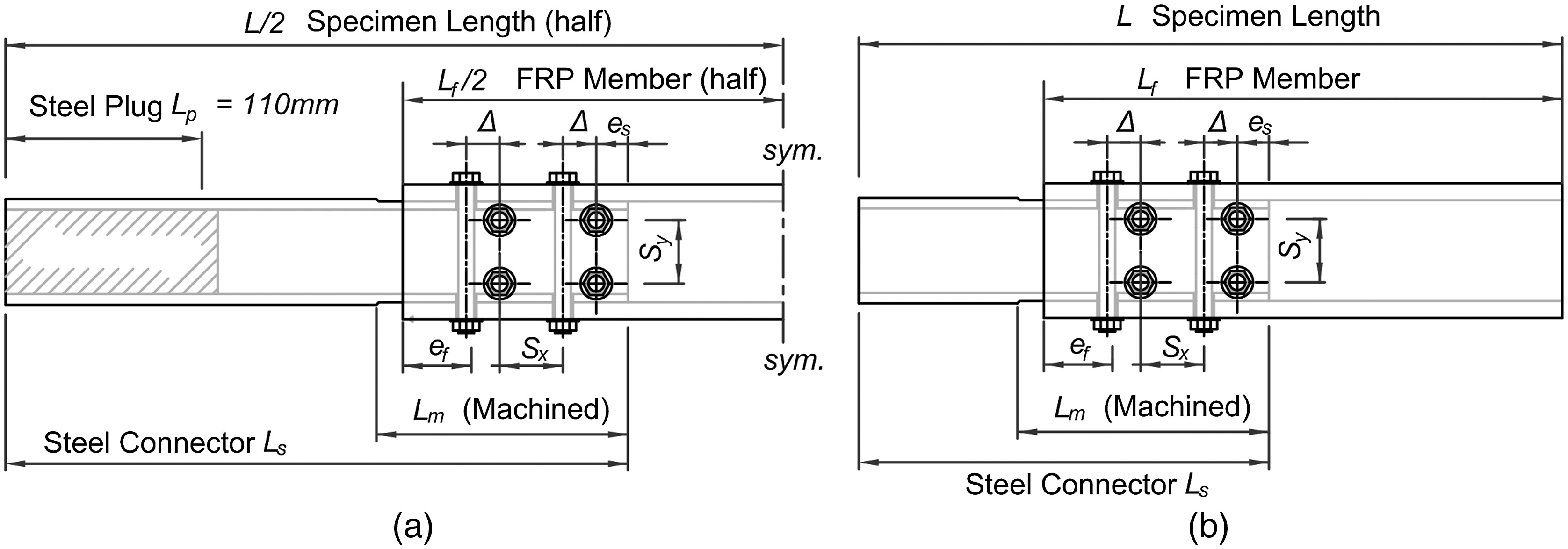 Bolted Sleeve Joints for Connecting Pultruded FRP Tubular
