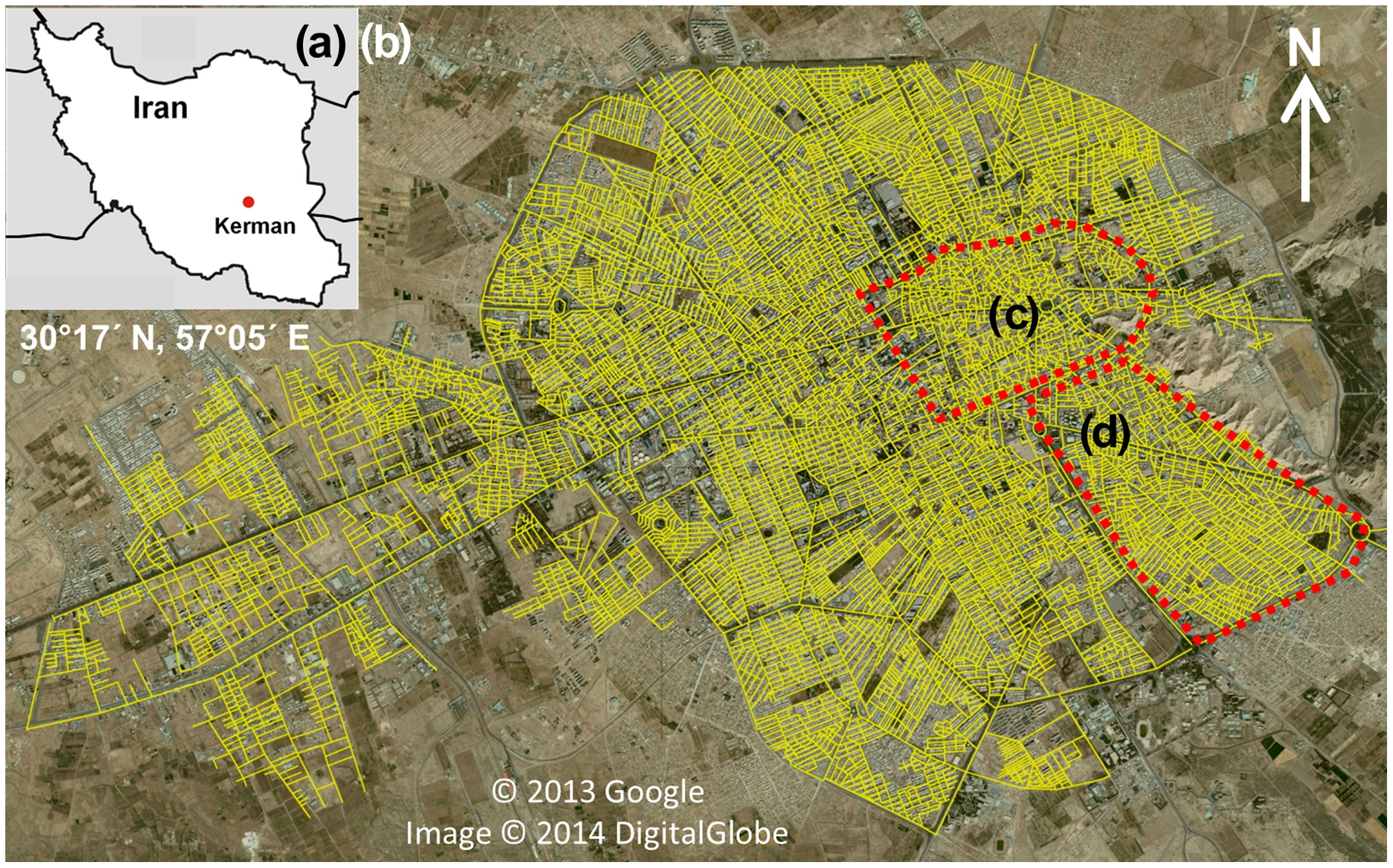 Quantitative Analysis of Structural Changes during Rapid Urban