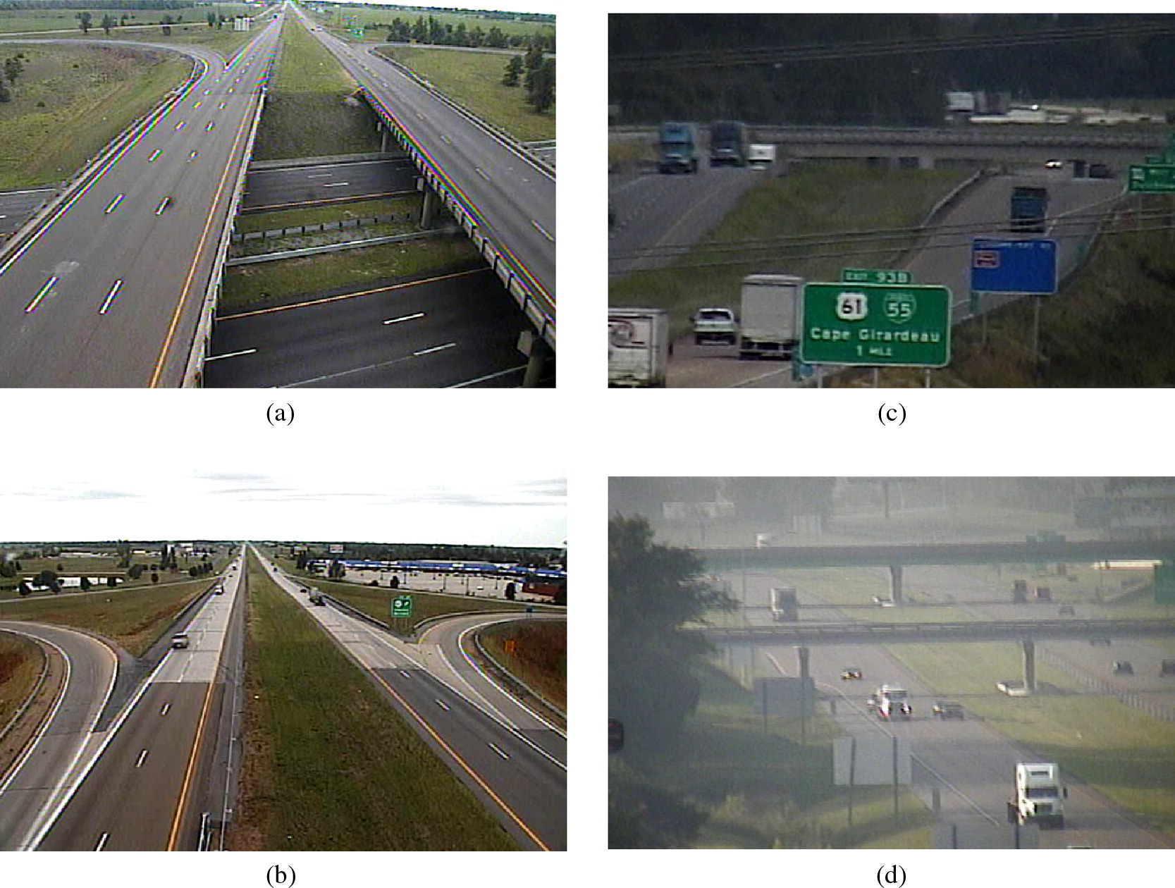 Evaluation of Dynamic Message Signs on Rural Freeways: Case