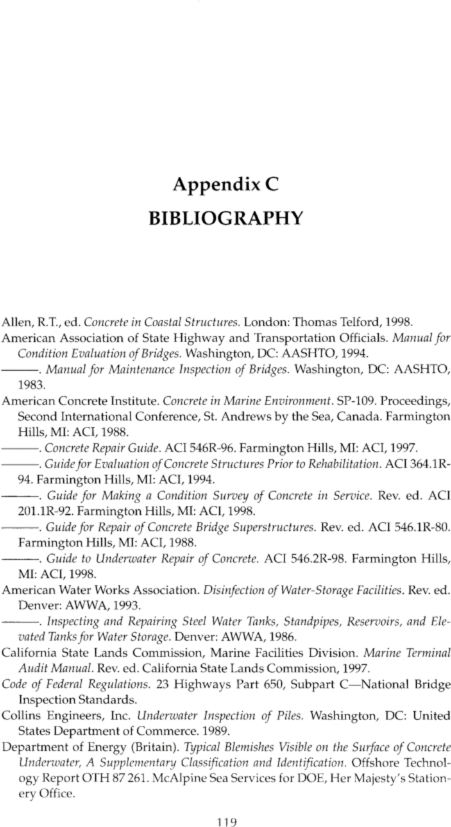 what goes first appendix or bibliography