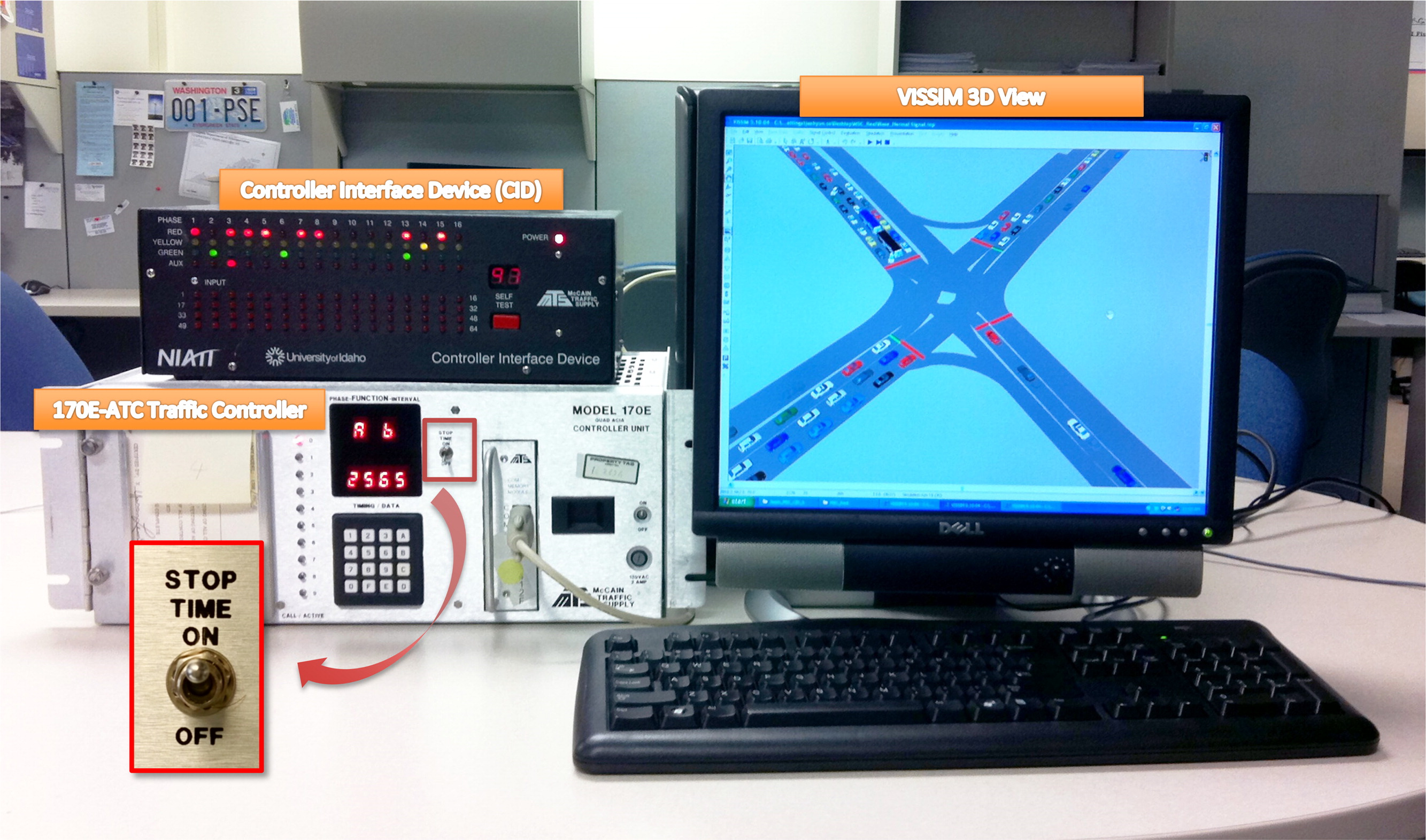 Evaluation of Manual Traffic-Signal Control under