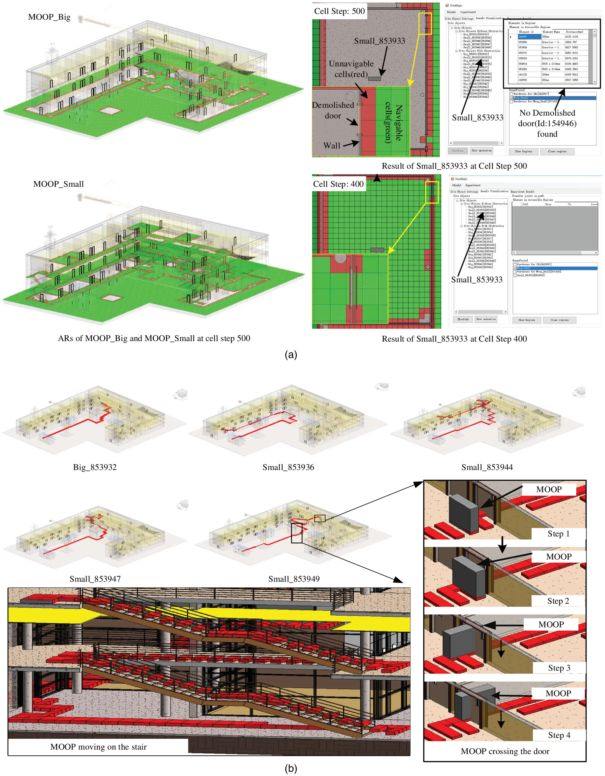 Cell-Based Transport Path Obstruction Detection Approach for