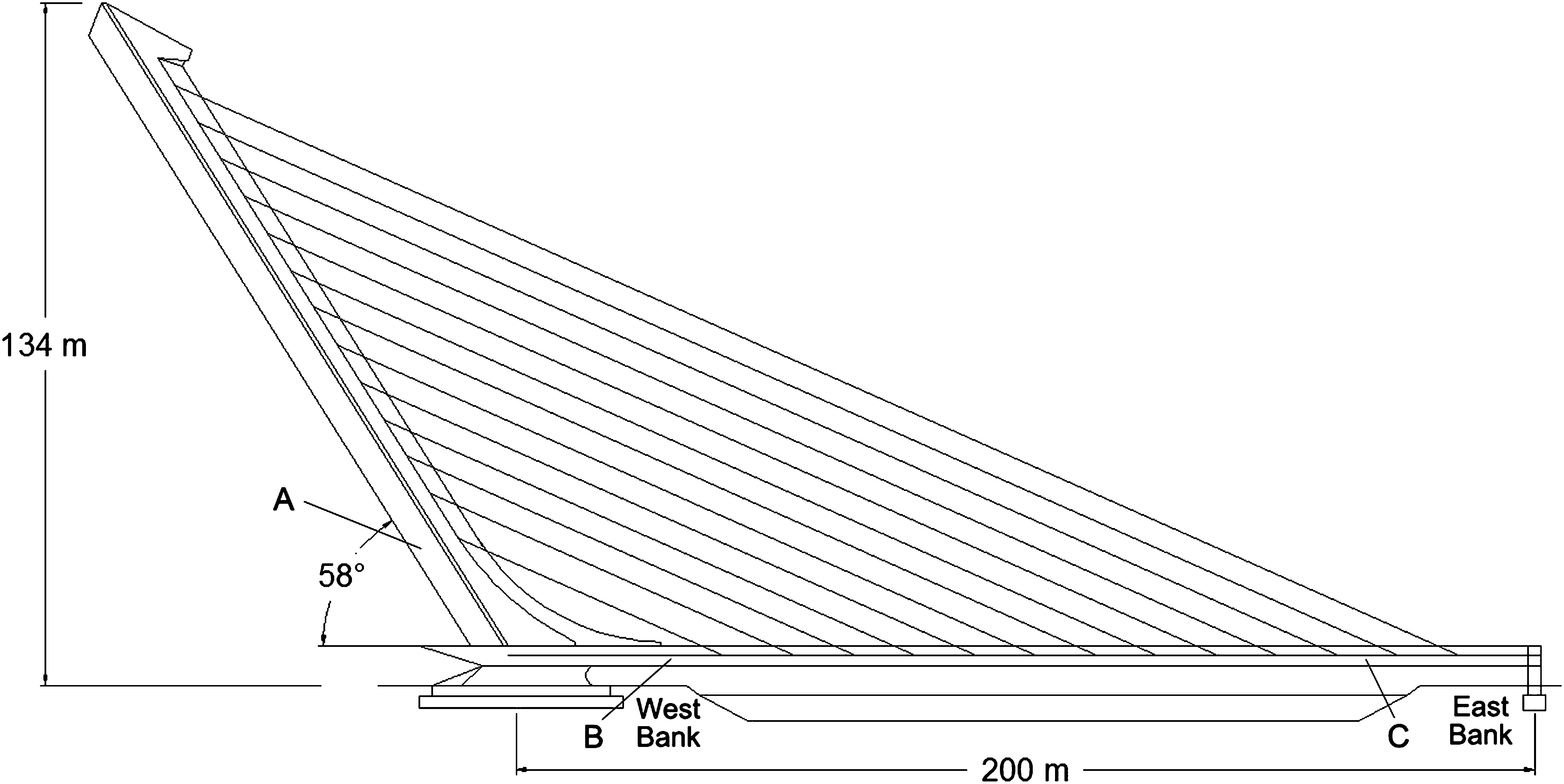 Santiago Calatravas Alamillo Bridge And The Idea Of Structural Bending Moment Diagrams Examples Engineer As Artist Journal Engineering Vol 18 No 10