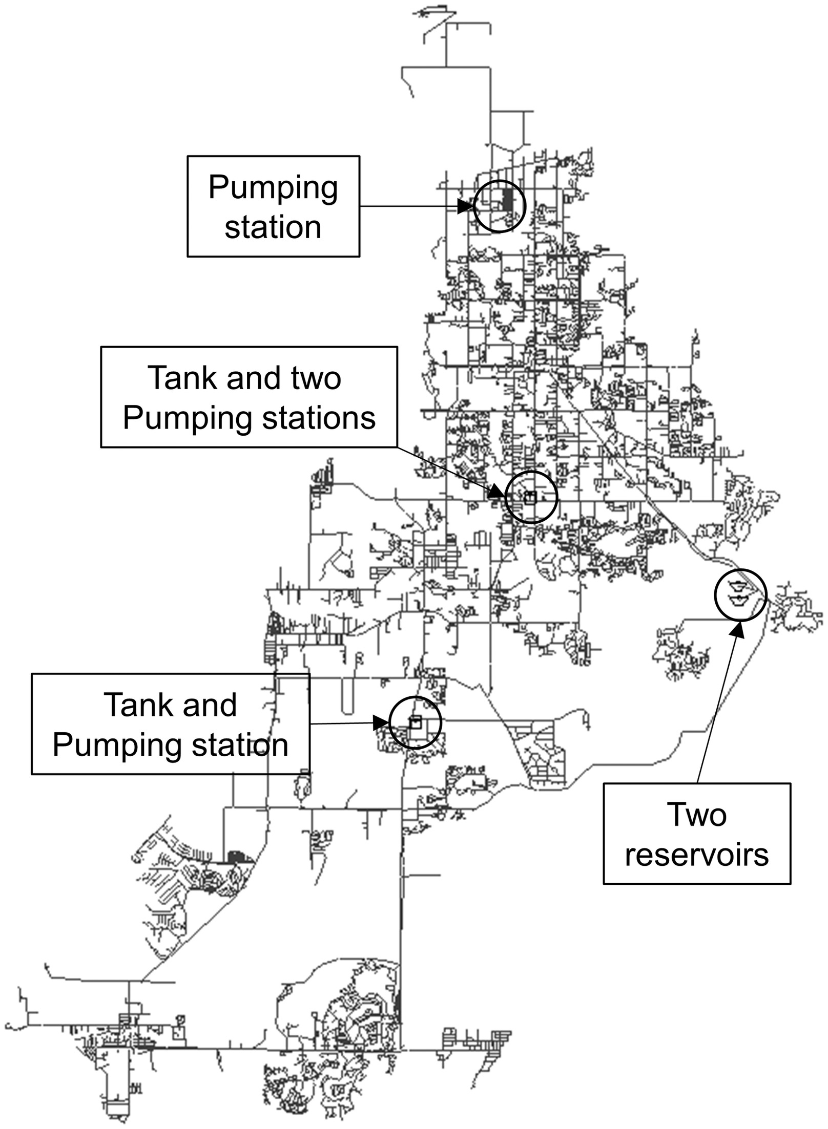 automatic partitioning of water distribution networks using 60 Gallon Pressurized Water Tank automatic partitioning of water distribution networks using multiscale munity detection and multiobjective optimization journal of water resources
