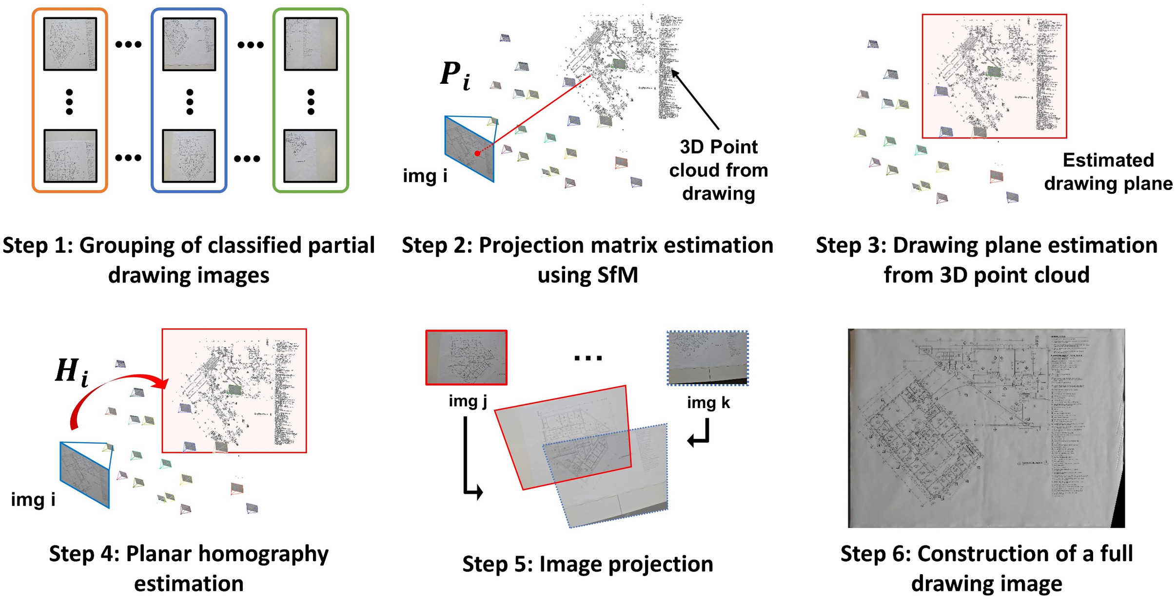 Automated Recovery of Structural Drawing Images Collected