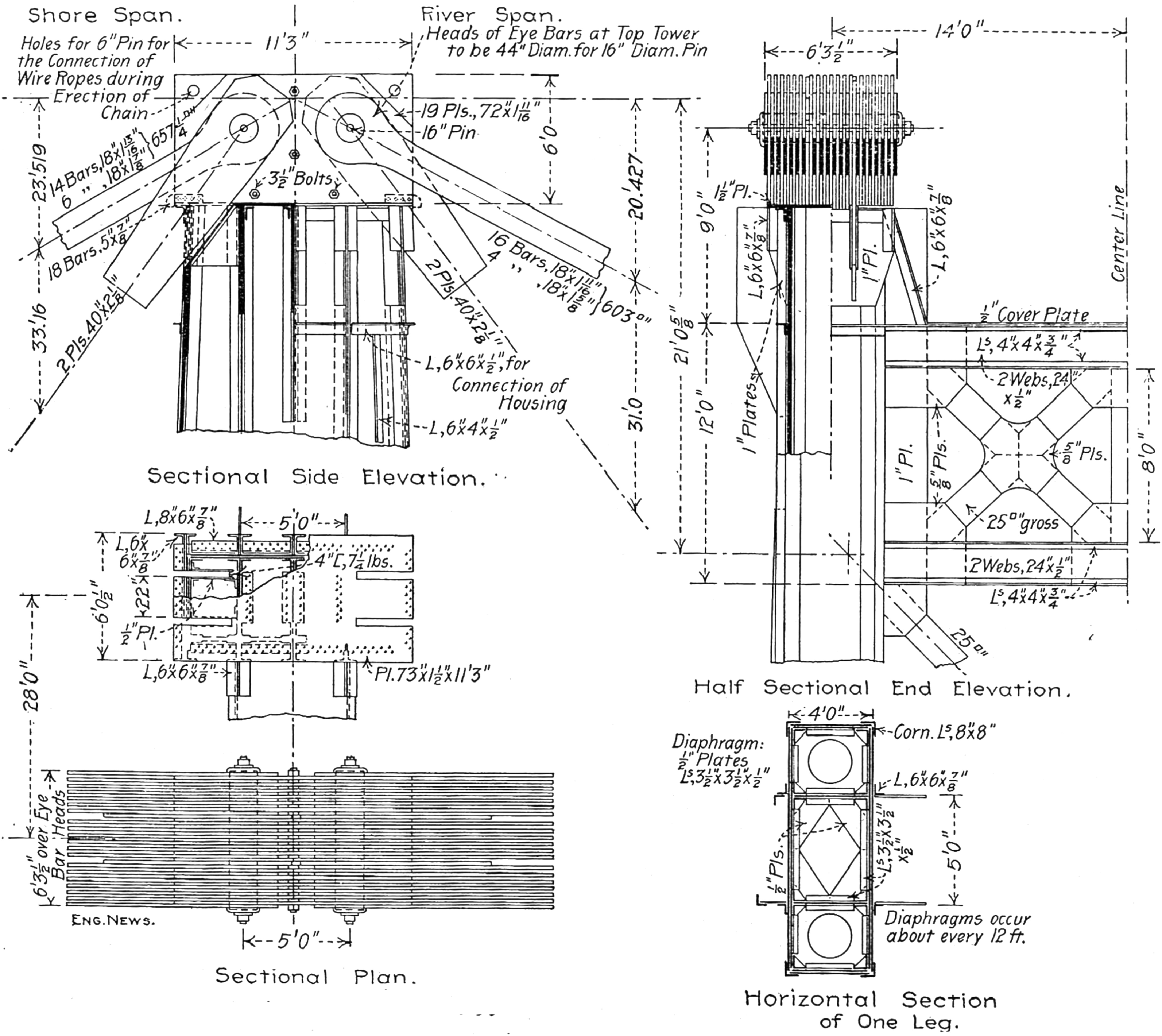 The Manhattan Bridge A Clash Of Titans Journal Professional Worthington C Wiring Diagram Issues In Engineering Education And Practice Vol 134 No 3