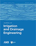 Journal of Irrigation and Drainage Engineering