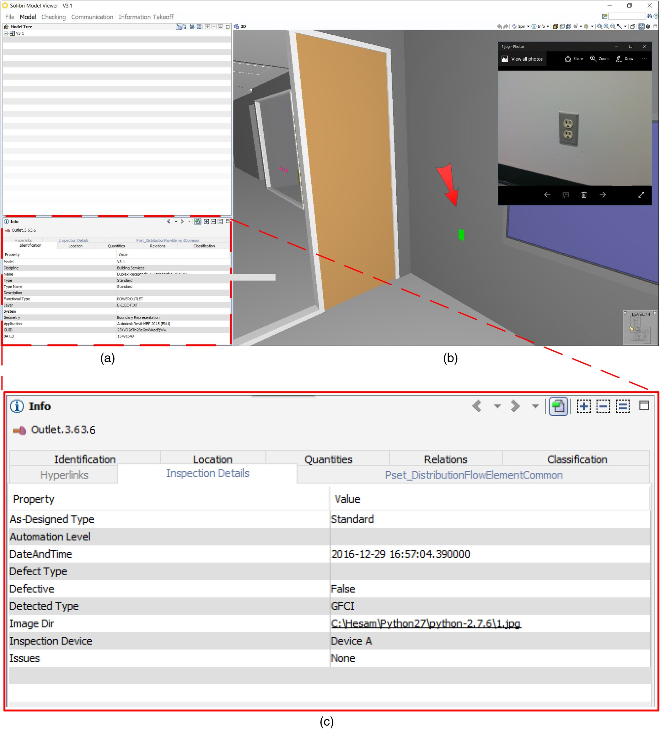 IFC-Based Development of As-Built and As-Is BIMs Using Construction and  Facility Inspection Data: Site-to-BIM Data Transfer Automation | Journal of  ...