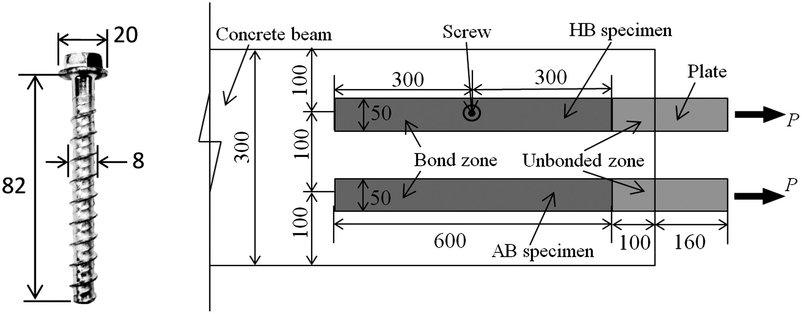 Bond test protocol for plate to concrete interface involving all bond test protocol for plate to concrete interface involving all mechanisms journal of composites for construction vol 20 no 1 fandeluxe Images