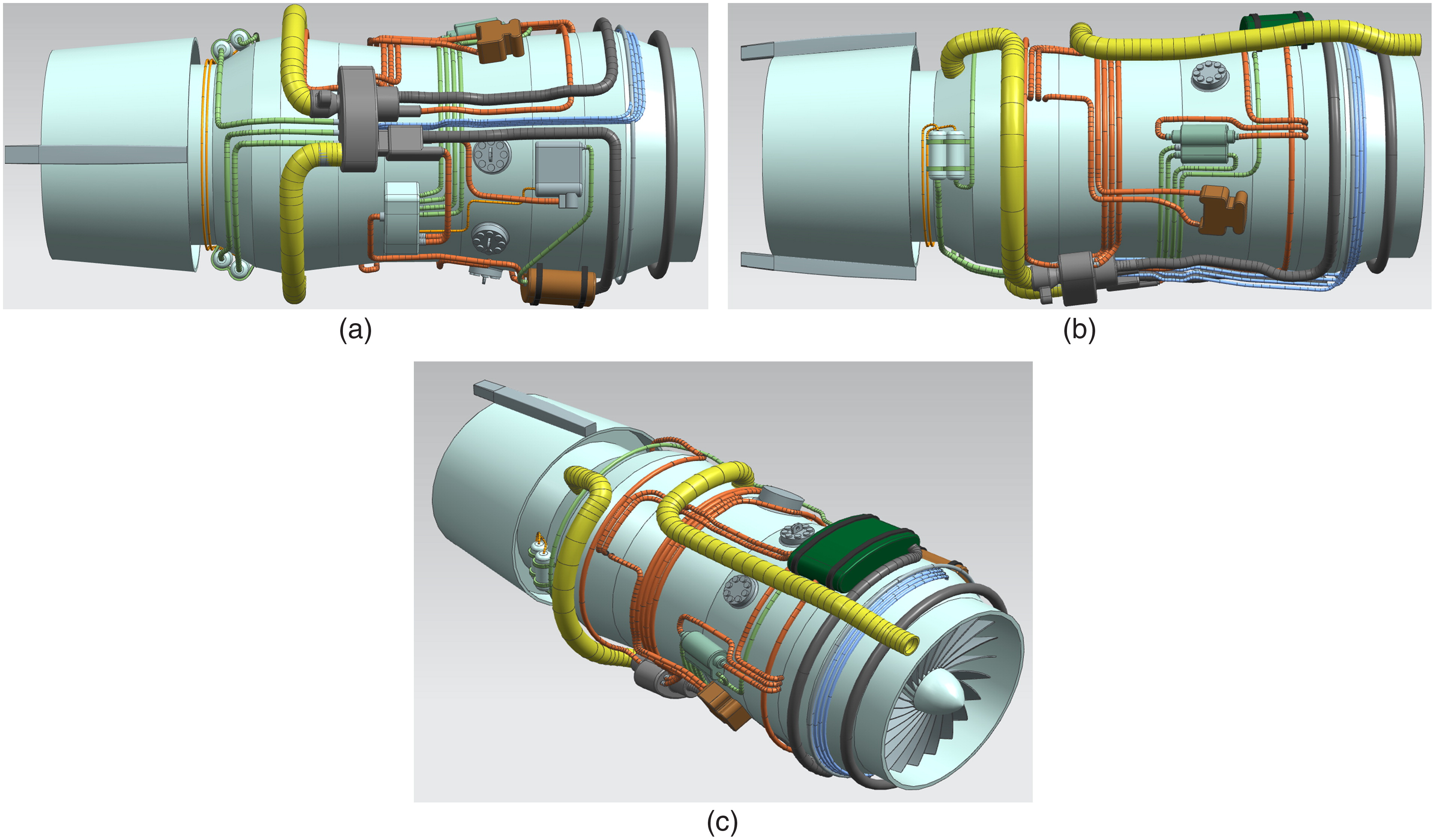 Pipe Routing Approach For Aircraft Engines Based On Ant Colony Piping Layout Optimization Journal Of Aerospace Engineering Vol 29 No 3